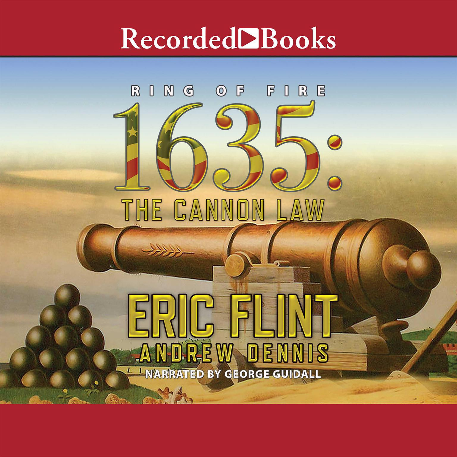 Printable 1635: The Cannon Law Audiobook Cover Art