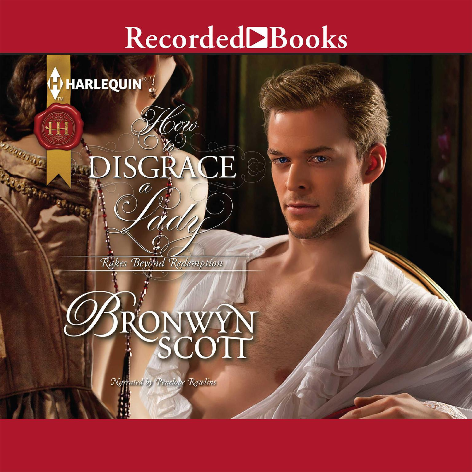 Printable How to Disgrace a Lady Audiobook Cover Art