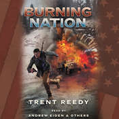 Burning Nation: Book 2 of Divided We Fall Audiobook, by Trent Reedy
