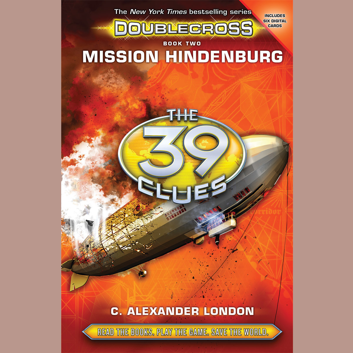 Printable The 39 Clues: Doublecross: Mission Hindenburg Audiobook Cover Art