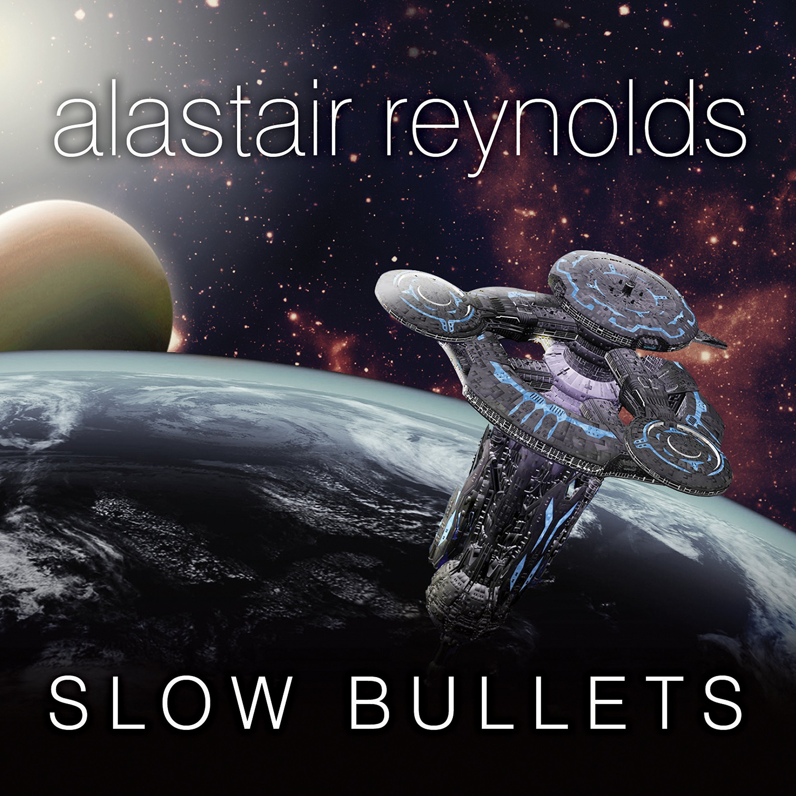 Printable Slow Bullets Audiobook Cover Art