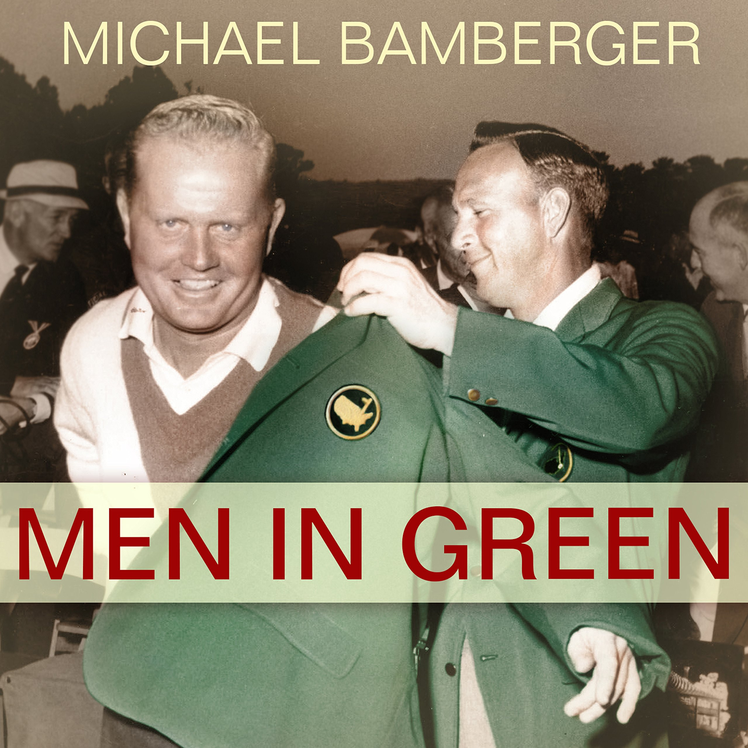 Printable Men in Green Audiobook Cover Art
