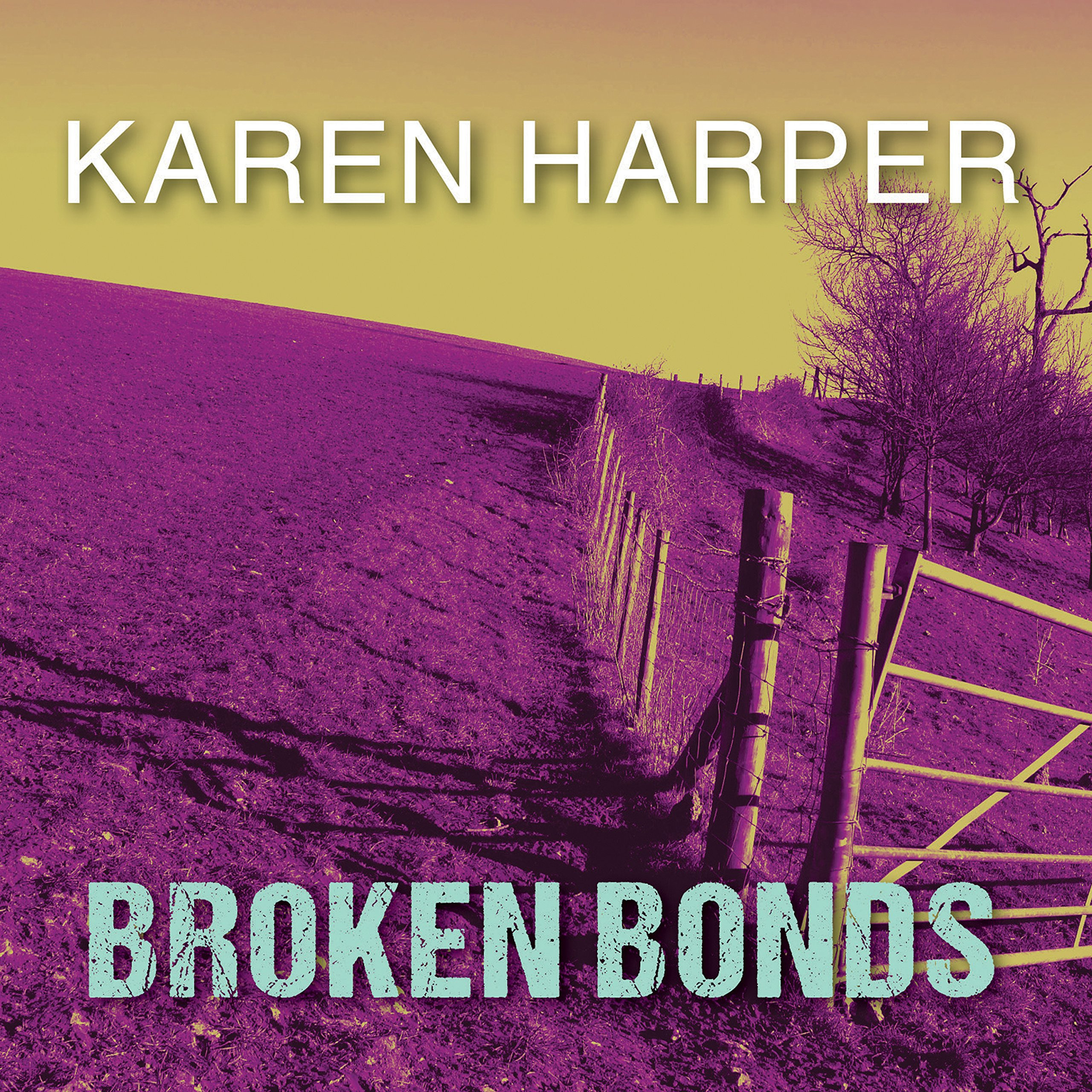 Printable Broken Bonds Audiobook Cover Art