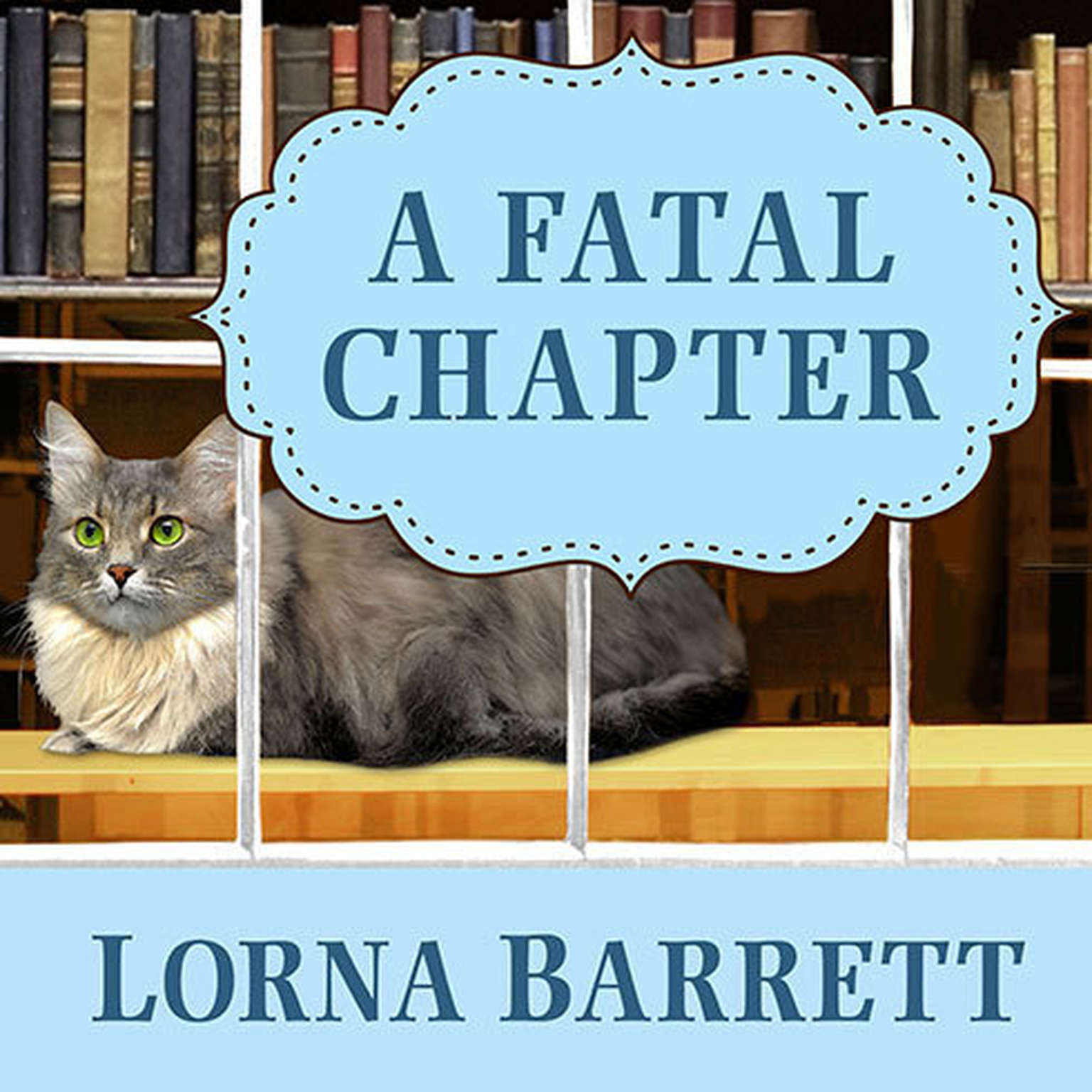 Printable A Fatal Chapter Audiobook Cover Art
