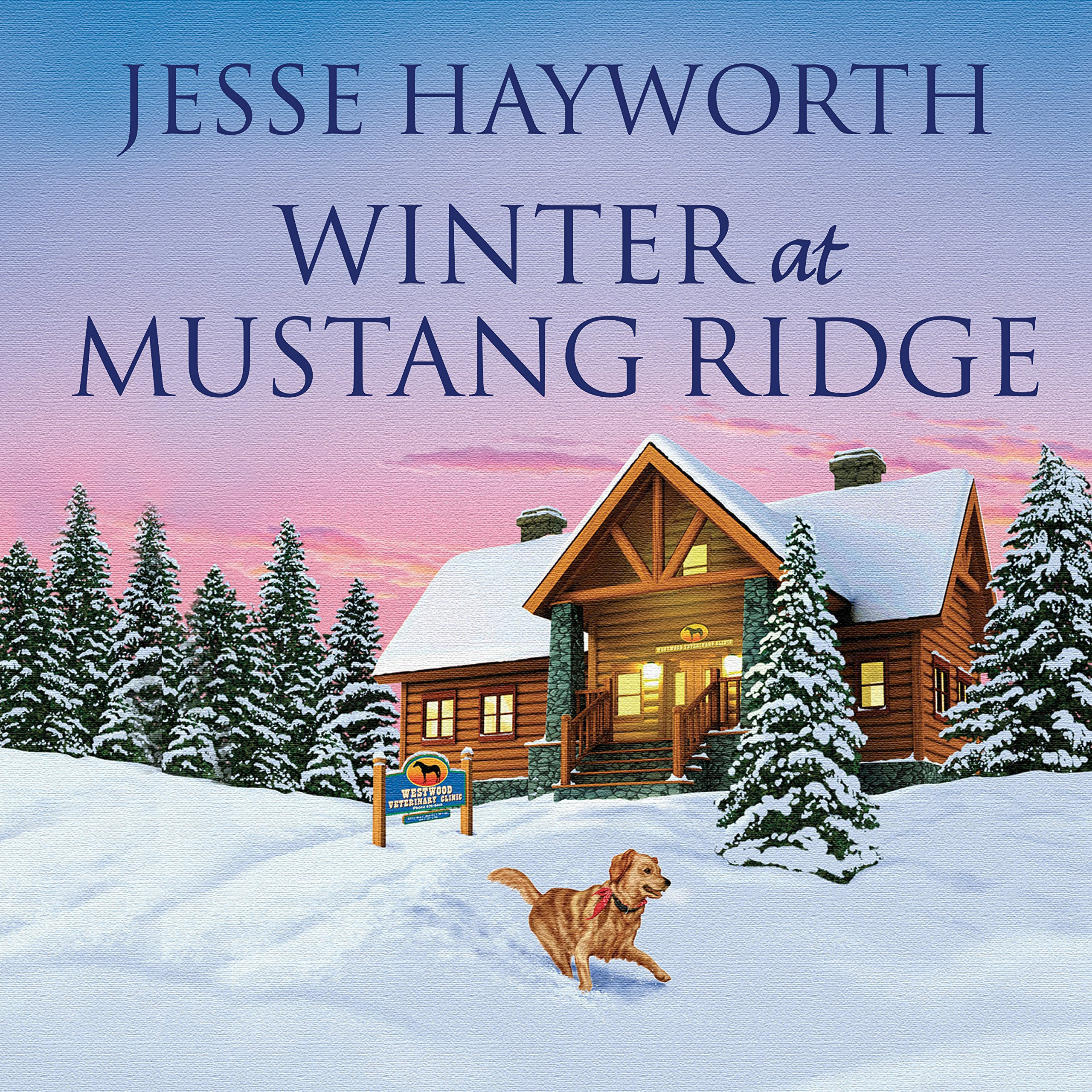 Printable Winter at Mustang Ridge Audiobook Cover Art