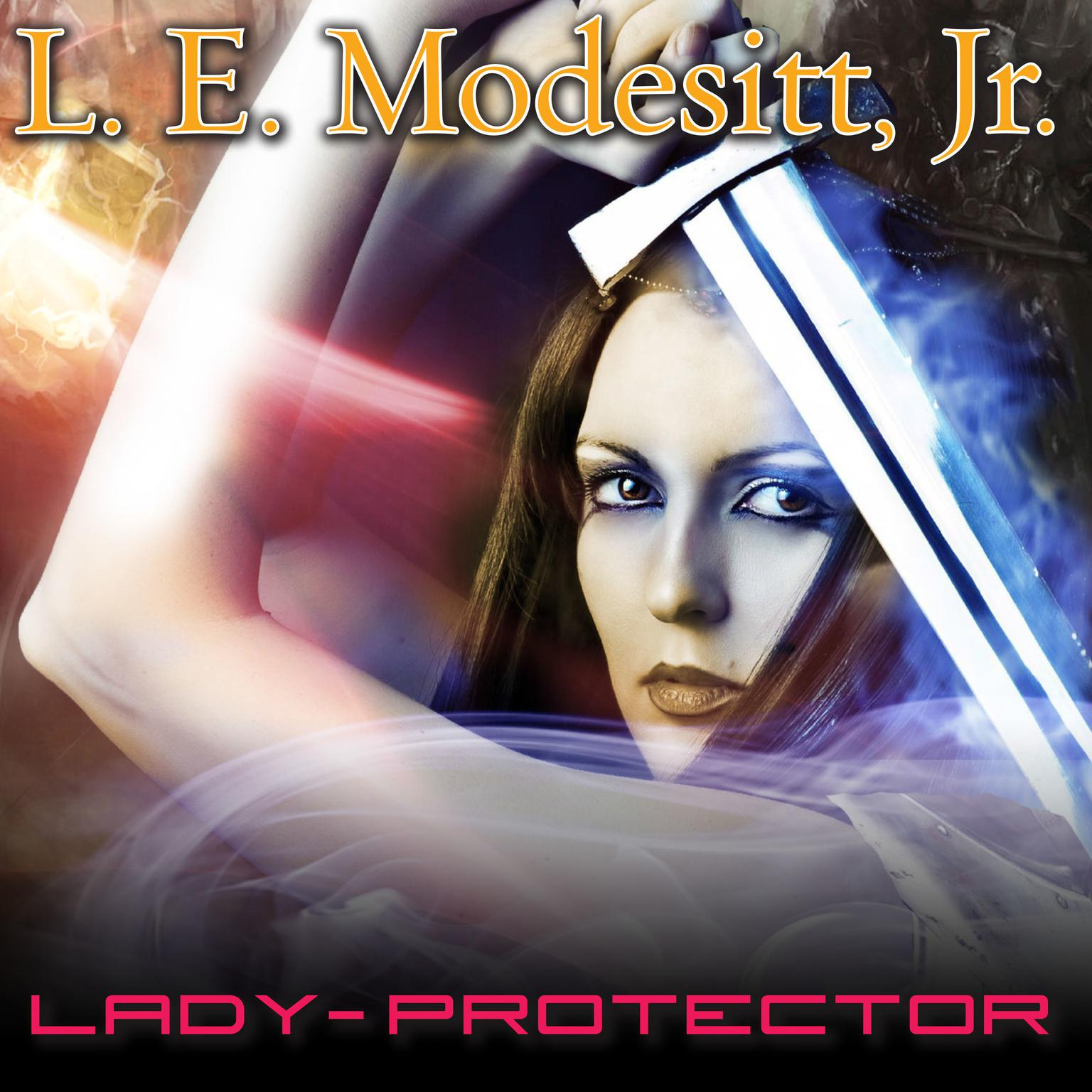 Printable Lady-Protector Audiobook Cover Art