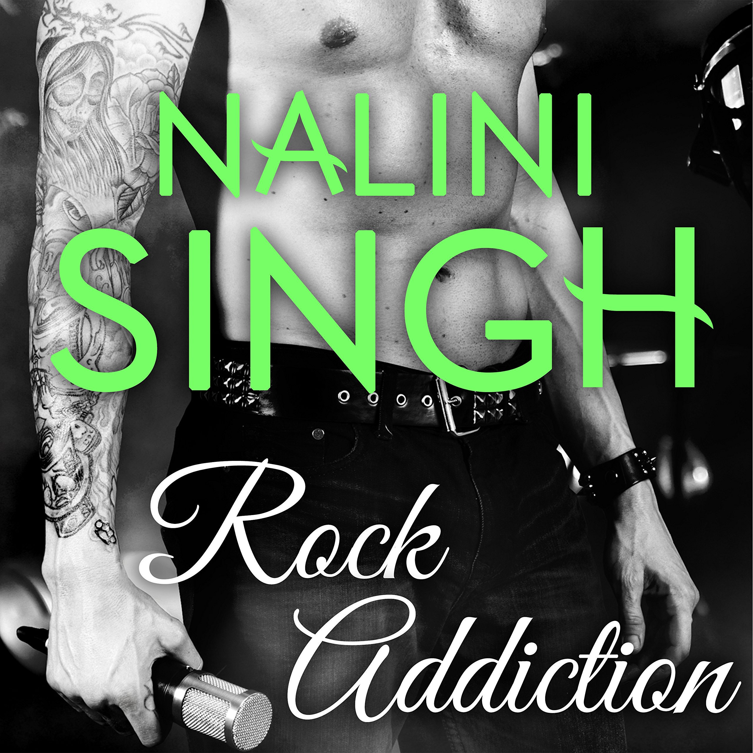 Printable Rock Addiction Audiobook Cover Art
