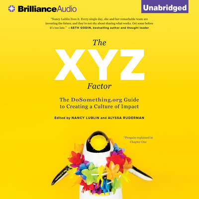 The XYZ Factor: The DoSomething.org Guide to Creating a Culture of Impact Audiobook, by Nancy Lublin