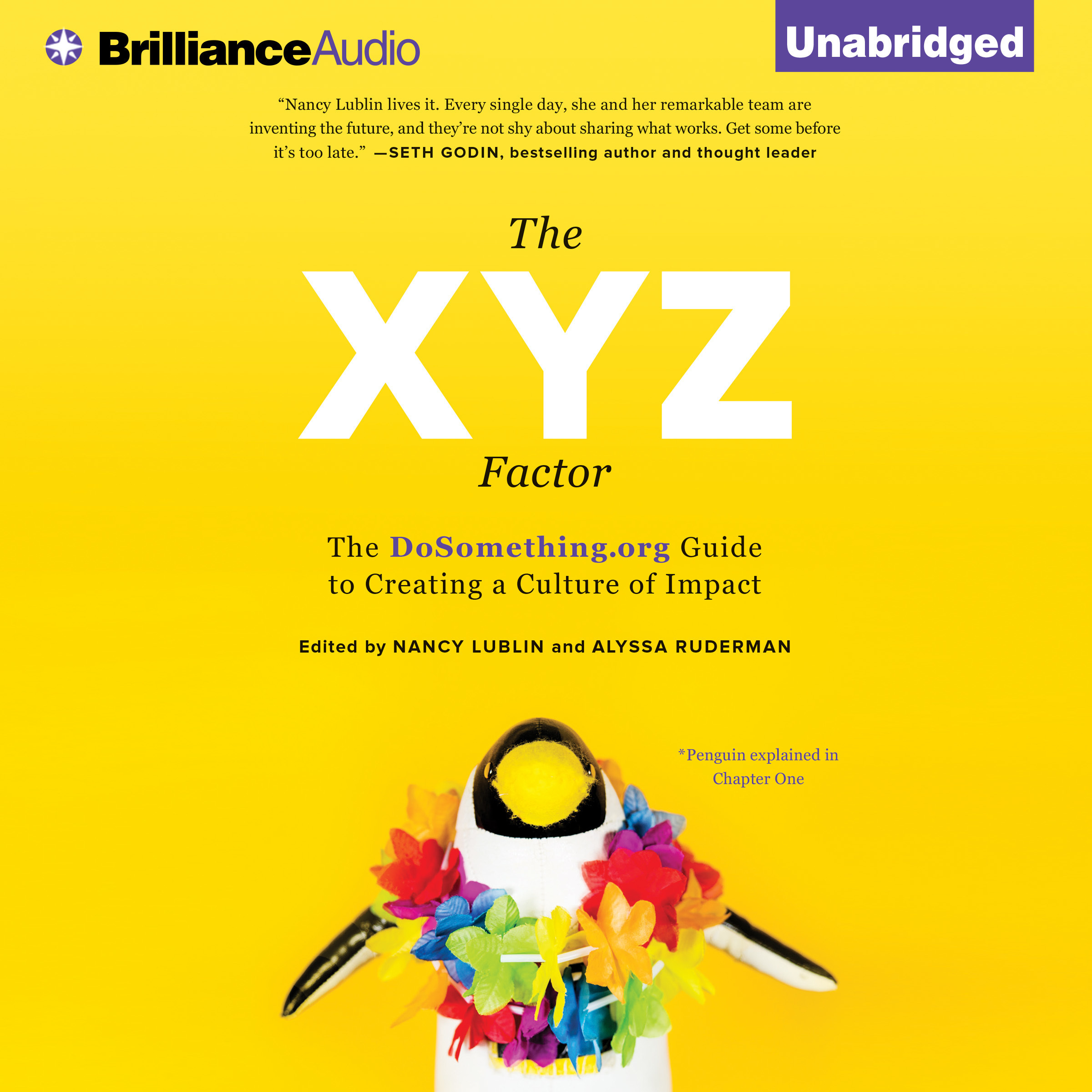 Printable The XYZ Factor: The DoSomething.org Guide to Creating a Culture of Impact Audiobook Cover Art