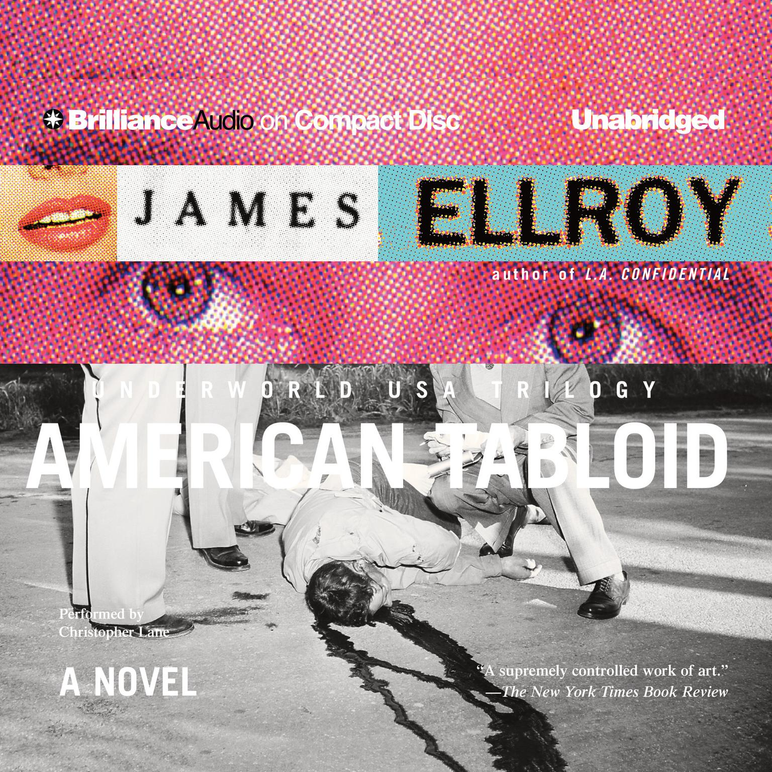 Printable American Tabloid Audiobook Cover Art