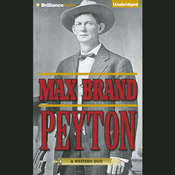 Peyton Audiobook, by Max Brand