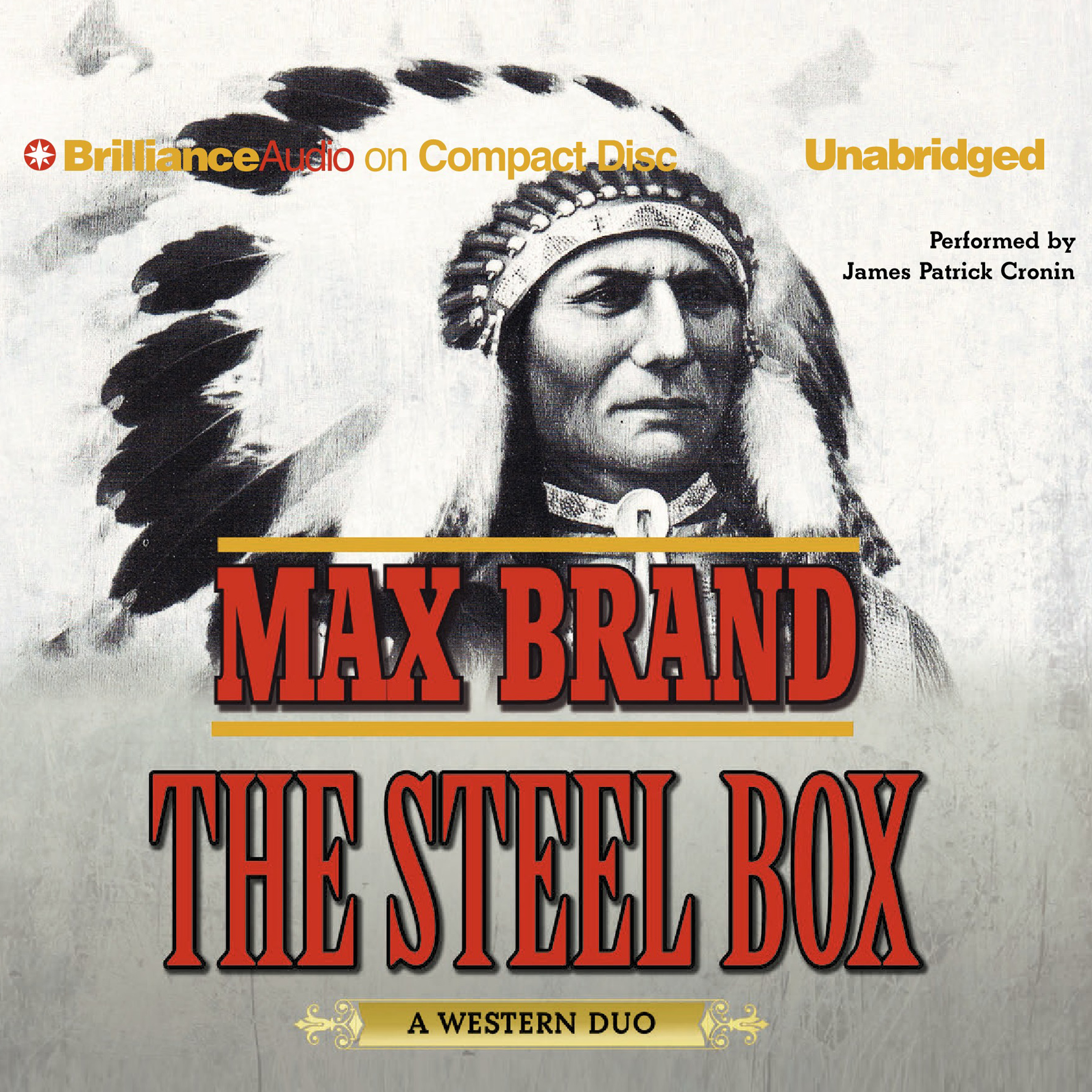 Printable The Steel Box: A Western Duo Audiobook Cover Art