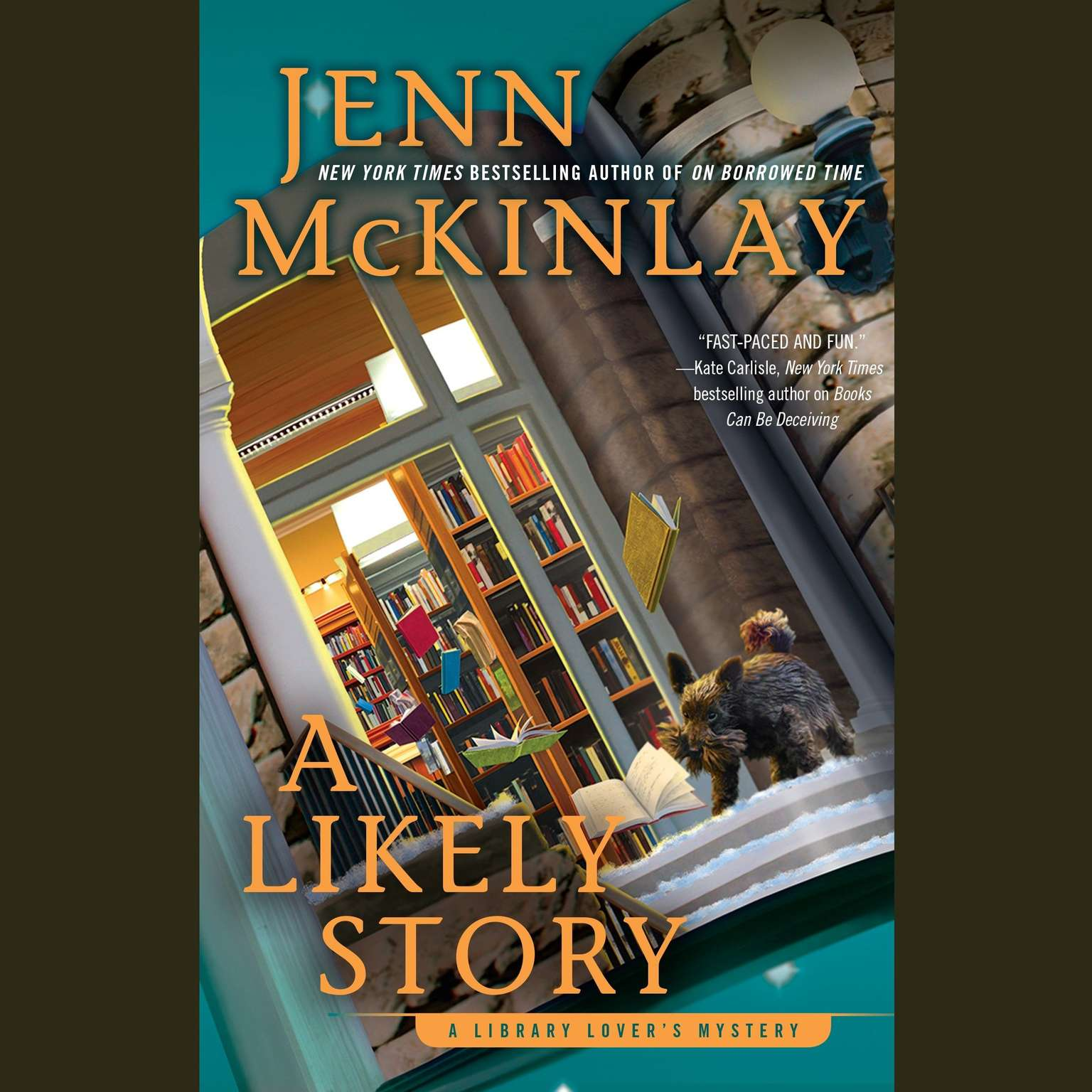 Printable A Likely Story: A Library Lover's Mystery Audiobook Cover Art