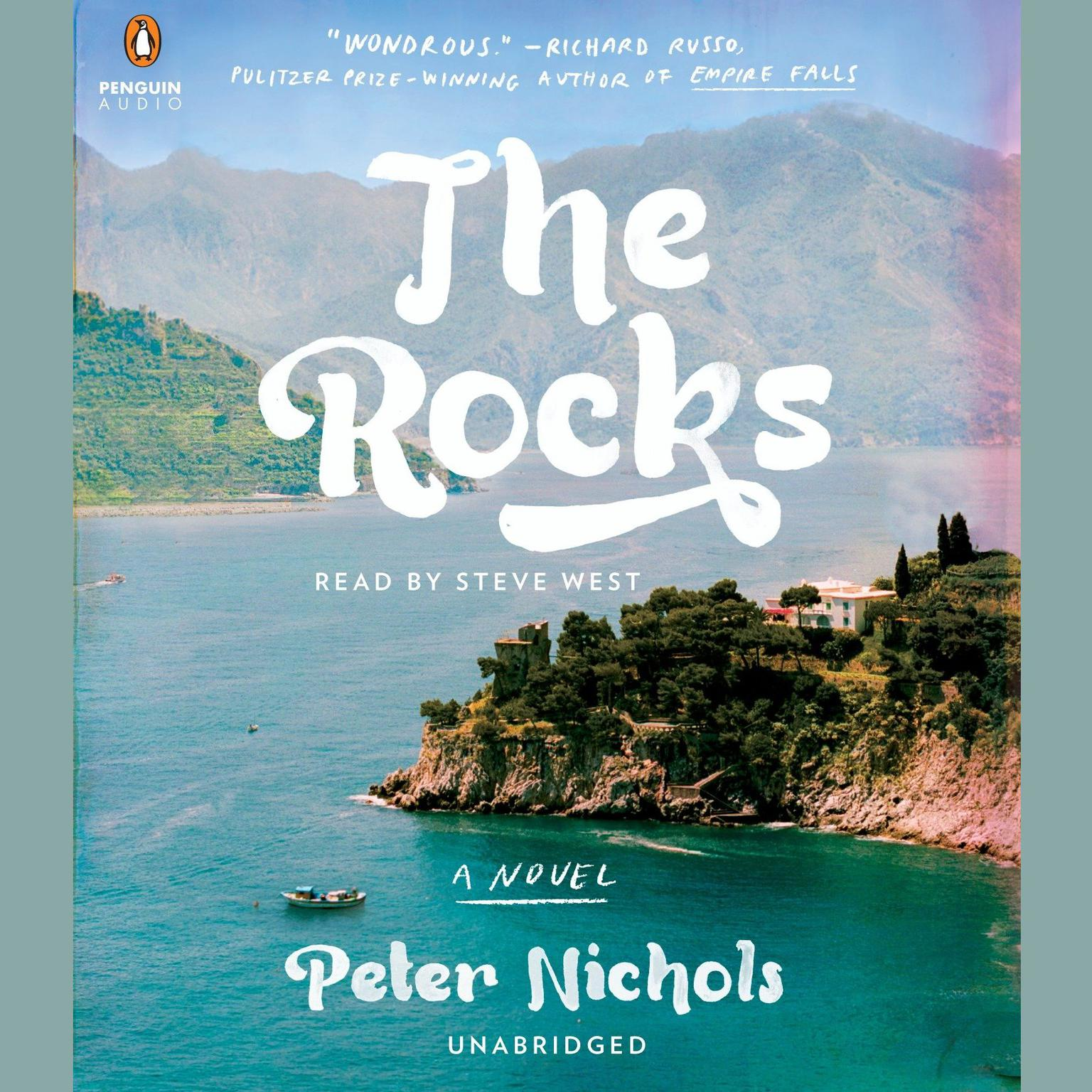 Printable The Rocks: A Novel Audiobook Cover Art