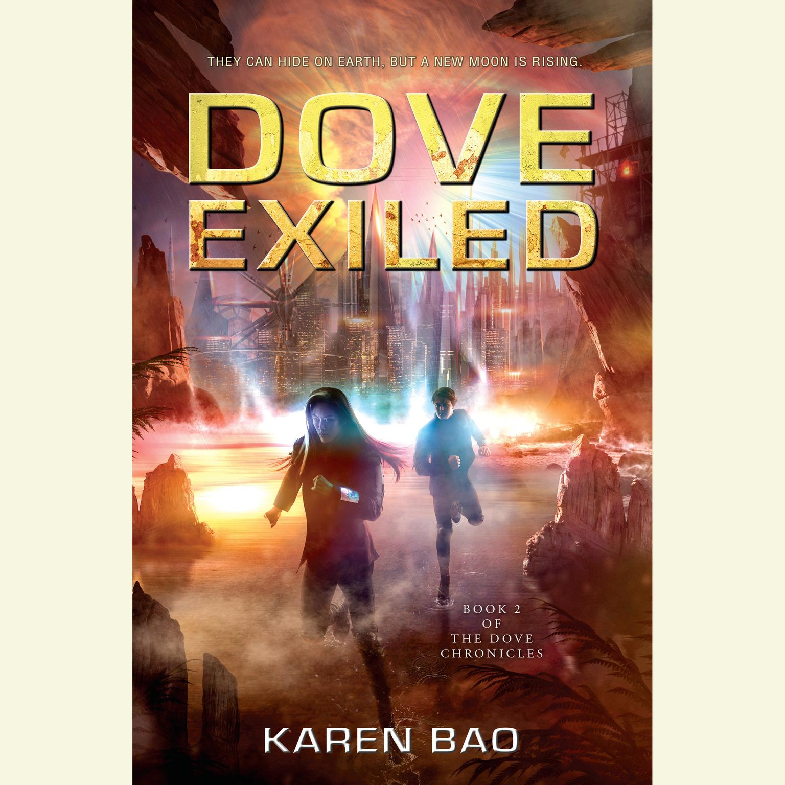 Printable Dove Exiled Audiobook Cover Art
