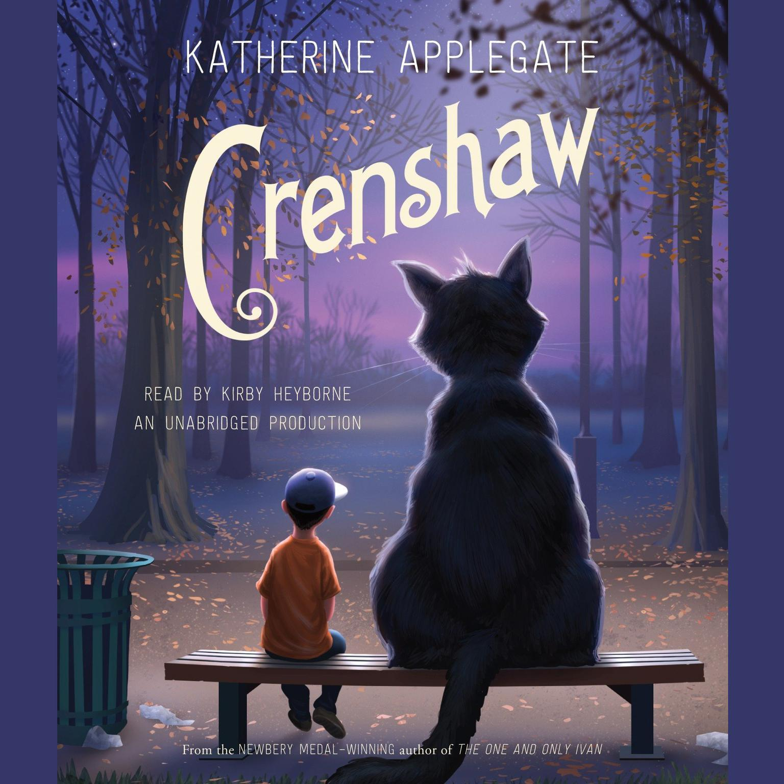 Printable Crenshaw Audiobook Cover Art