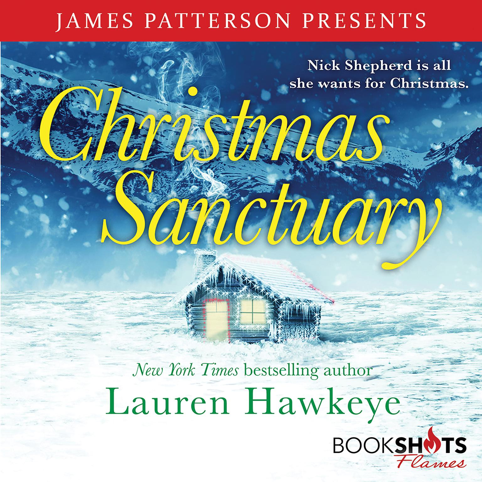 Printable Christmas Sanctuary Audiobook Cover Art
