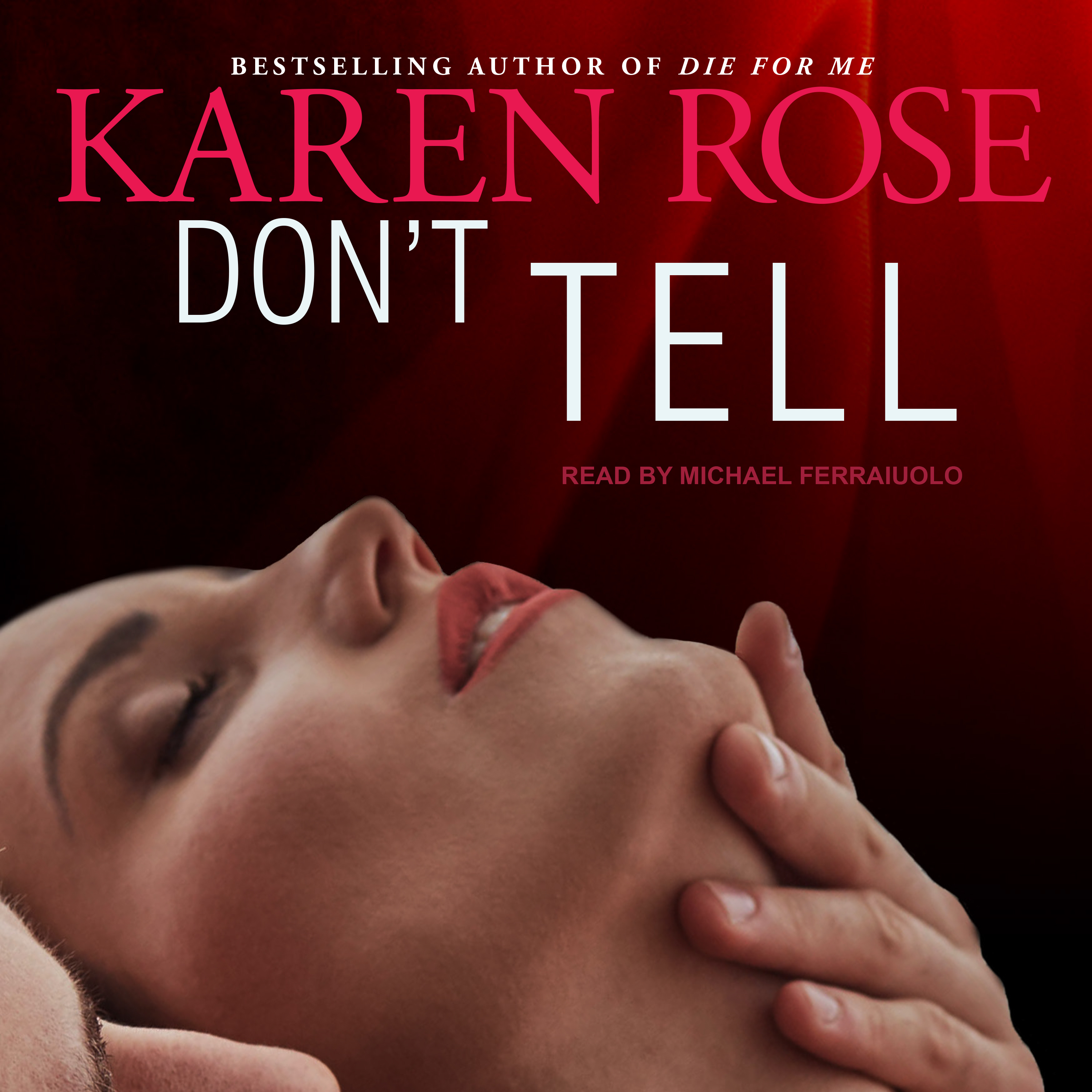 Printable Don't Tell Audiobook Cover Art