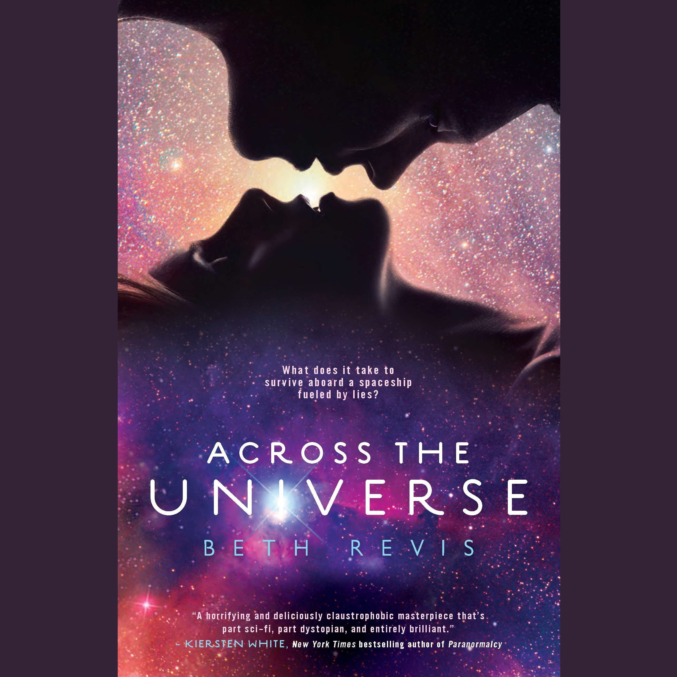 Printable Across the Universe Audiobook Cover Art