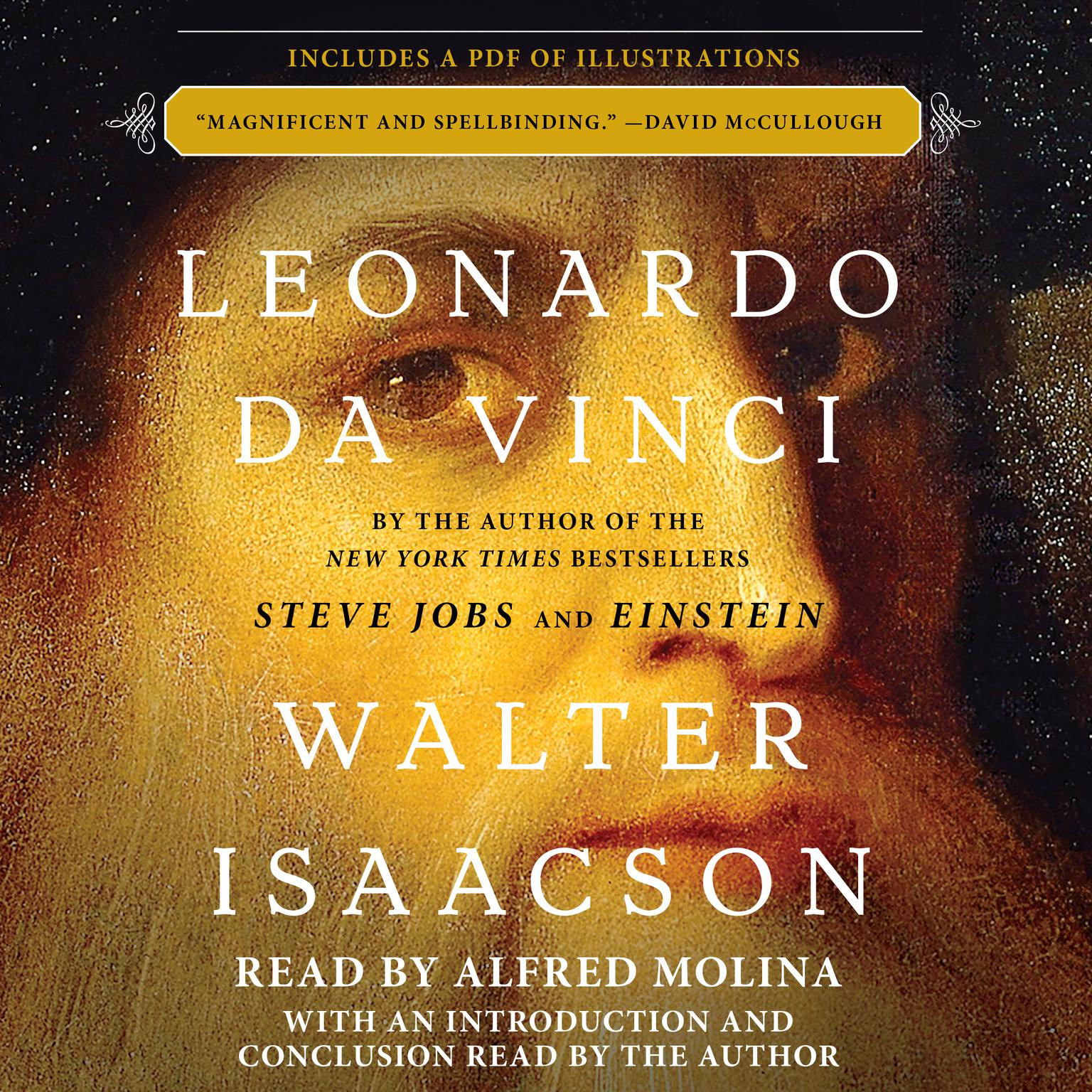 Printable Leonardo da Vinci Audiobook Cover Art