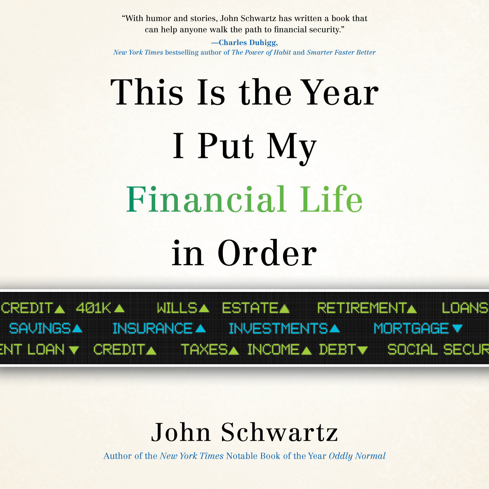 Printable This is the Year I Put My Financial Life in Order Audiobook Cover Art