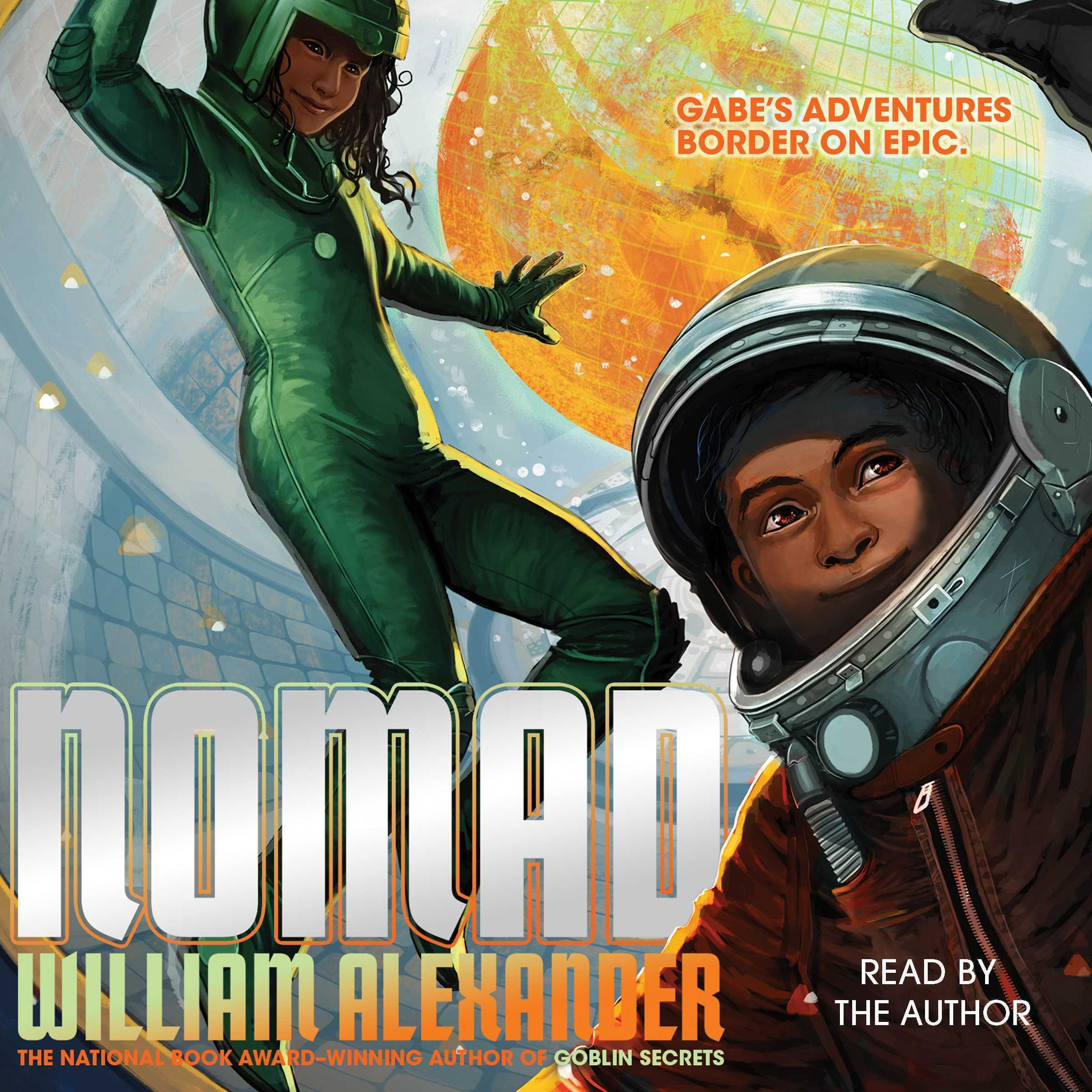 Printable Nomad Audiobook Cover Art
