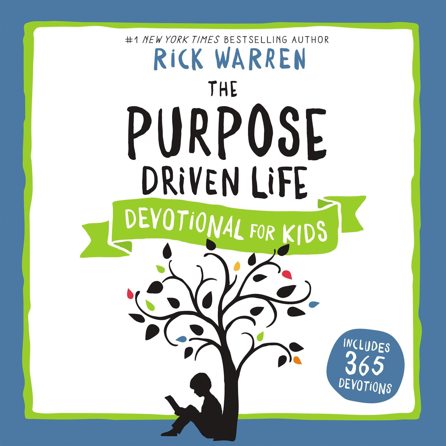 Printable The Purpose Driven Life Devotional for Kids Audiobook Cover Art