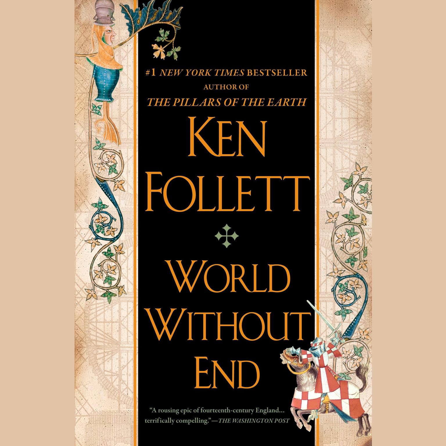 Printable World Without End Audiobook Cover Art