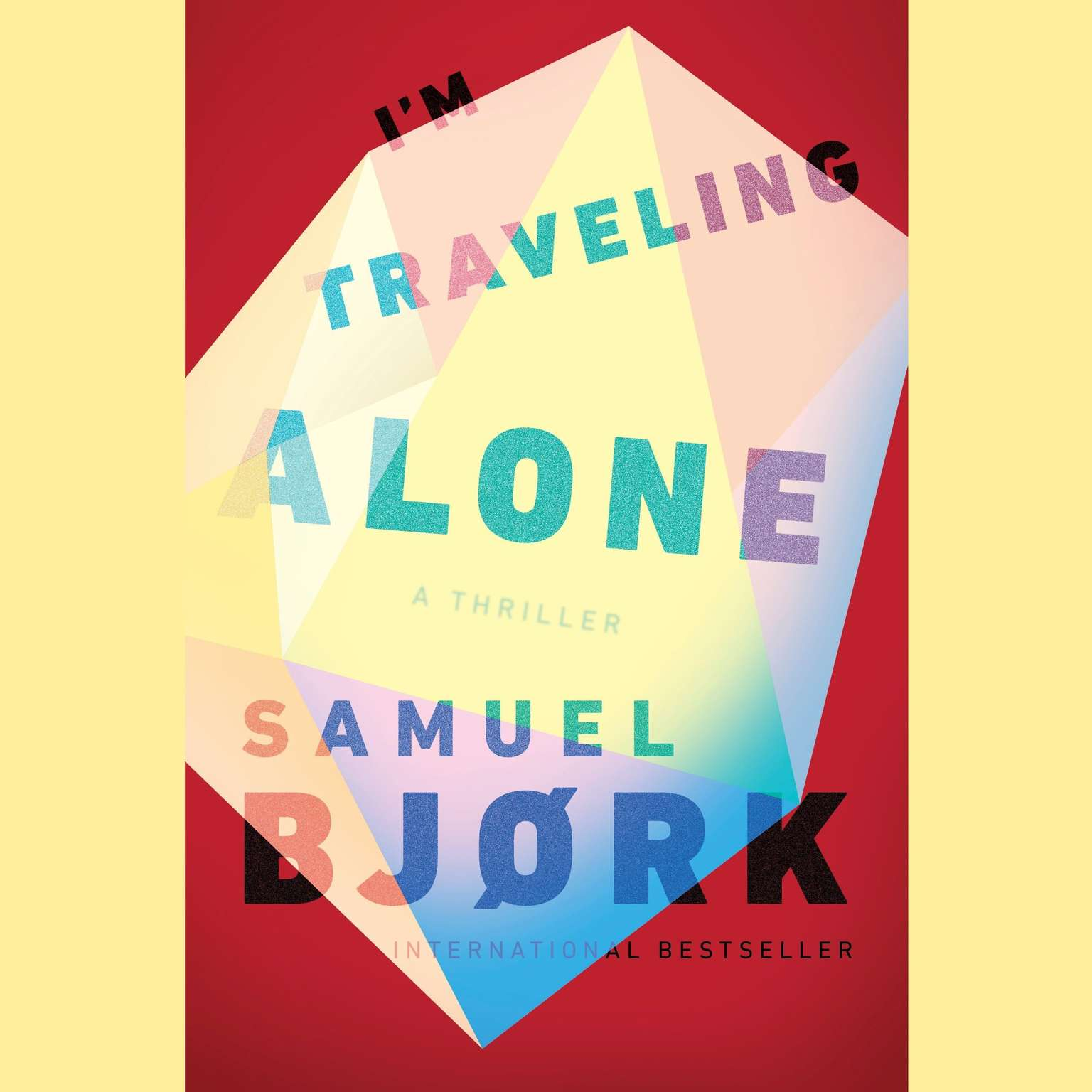 Printable I'm Traveling Alone Audiobook Cover Art