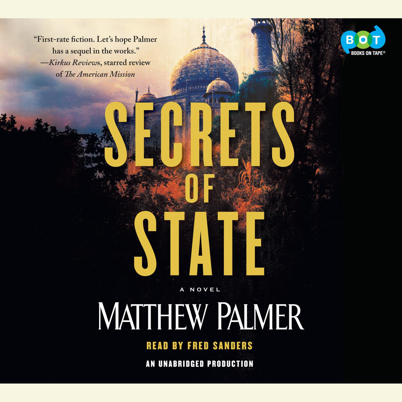 Printable Secrets of State Audiobook Cover Art
