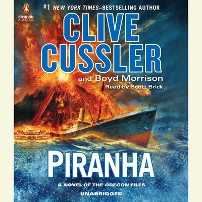 Piranha Audiobook, by Clive Cussler