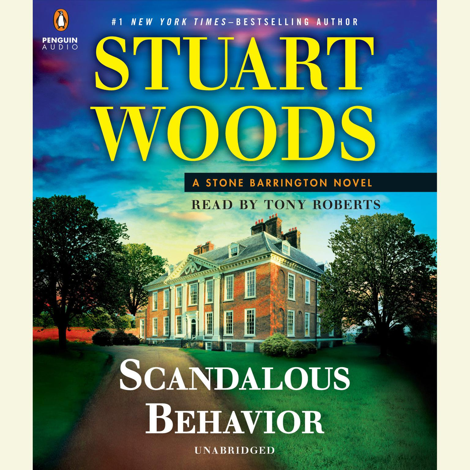 Printable Scandalous Behavior Audiobook Cover Art