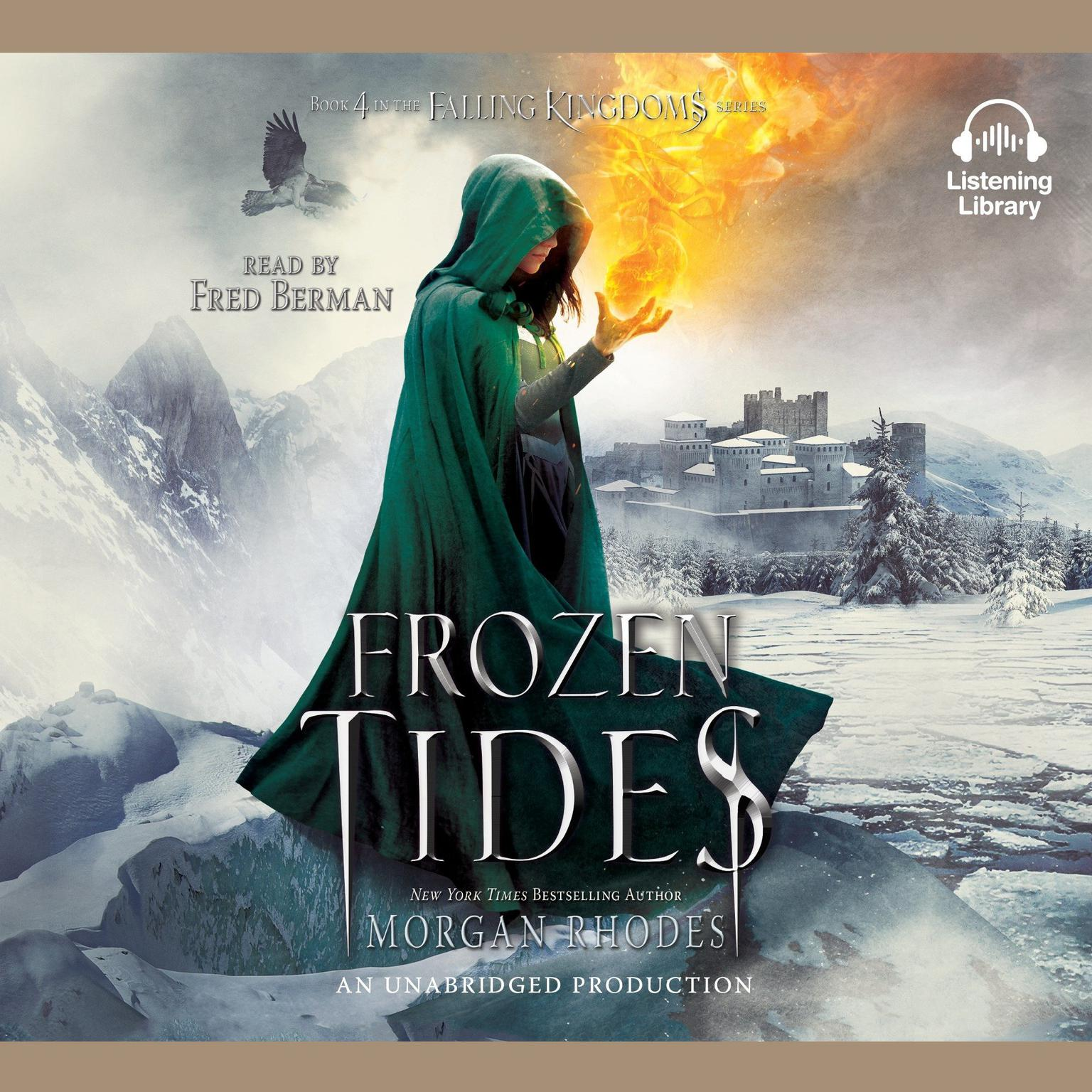 Printable Frozen Tides: A Falling Kingdoms Novel Audiobook Cover Art