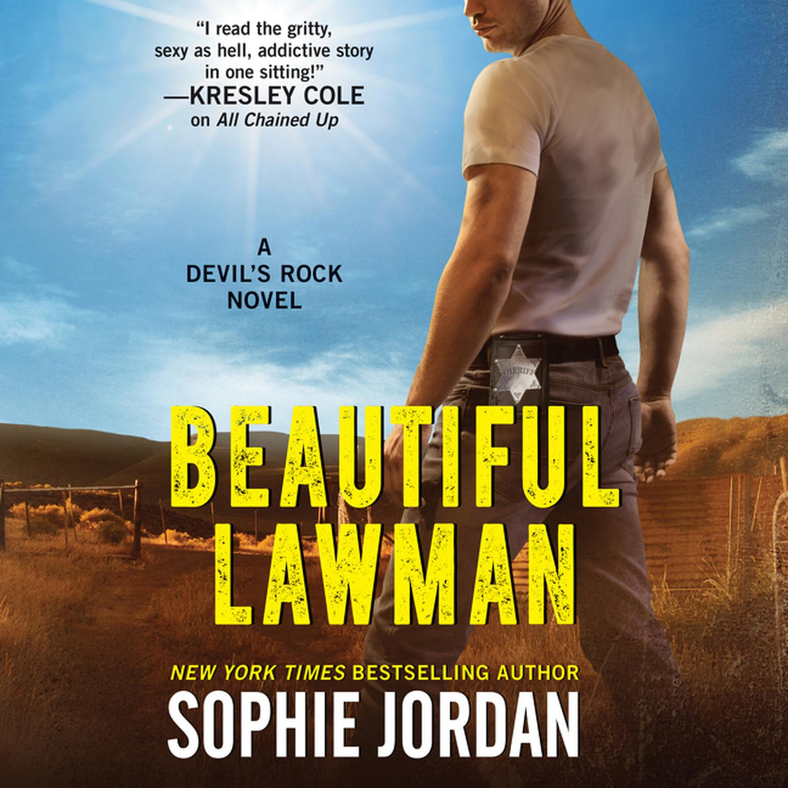 Printable Beautiful Lawman: A Devil's Rock Novel Audiobook Cover Art