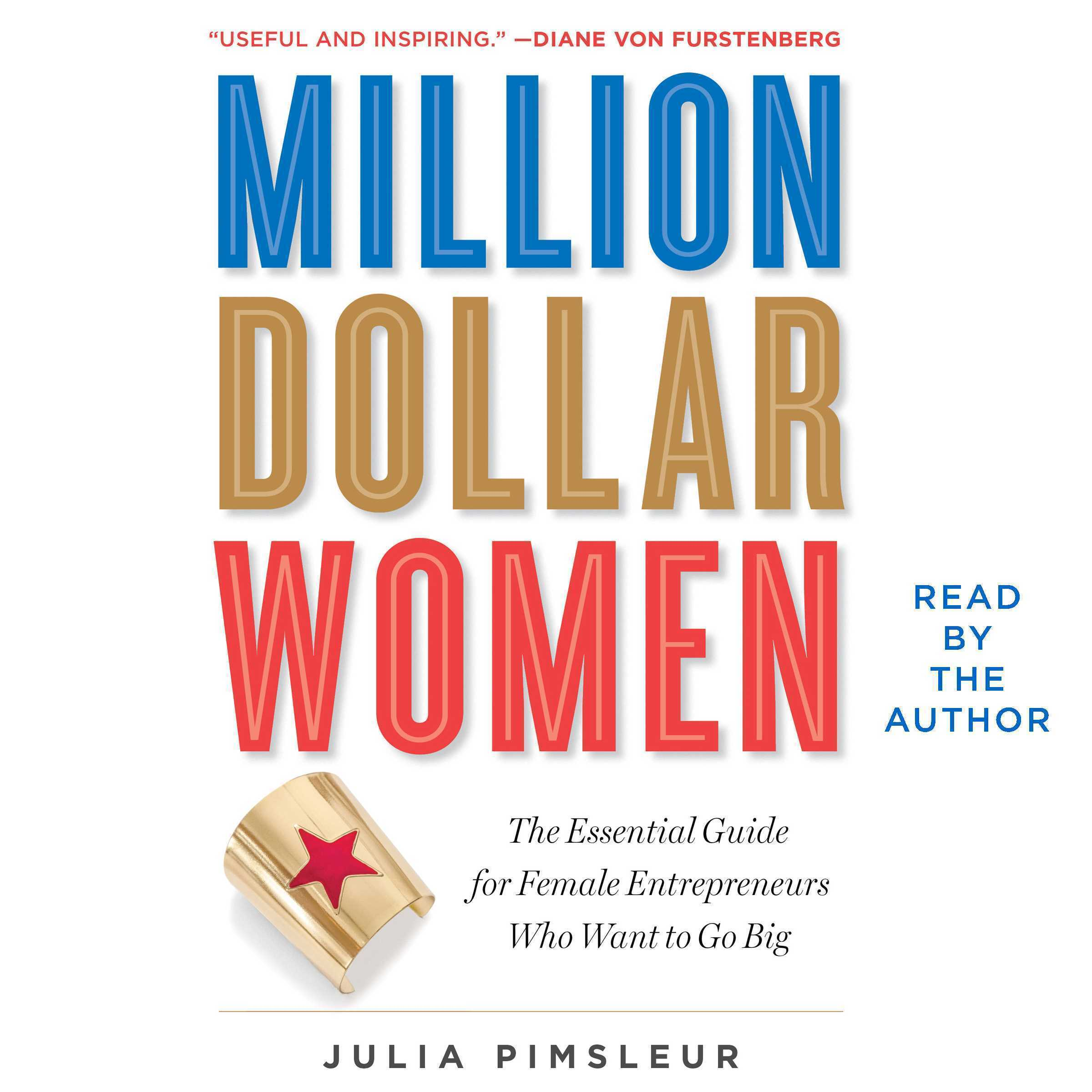 Printable Million Dollar Women: The Essential Guide for Female Entrepreneurs Who Want to Go Big Audiobook Cover Art