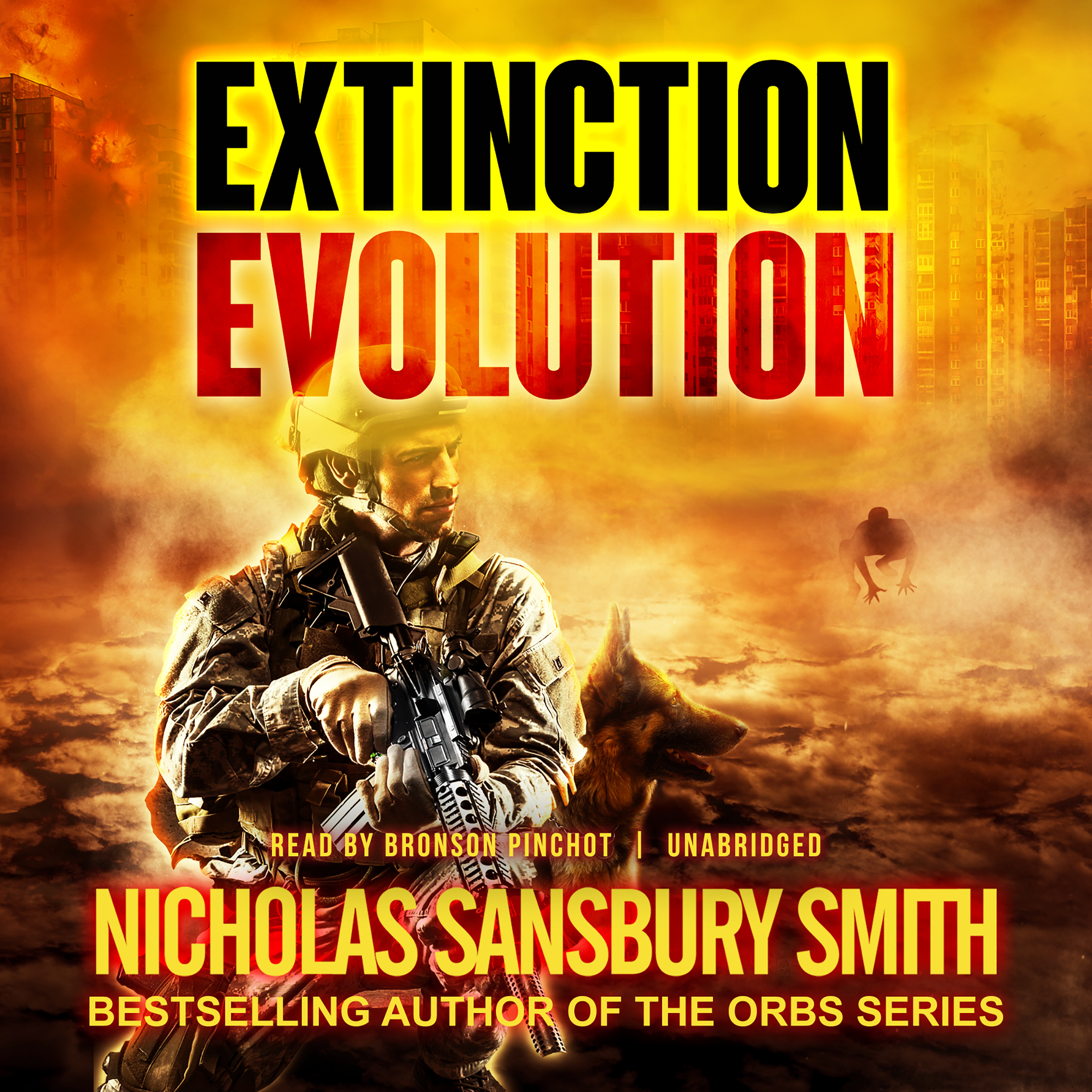 Printable Extinction Evolution  Audiobook Cover Art