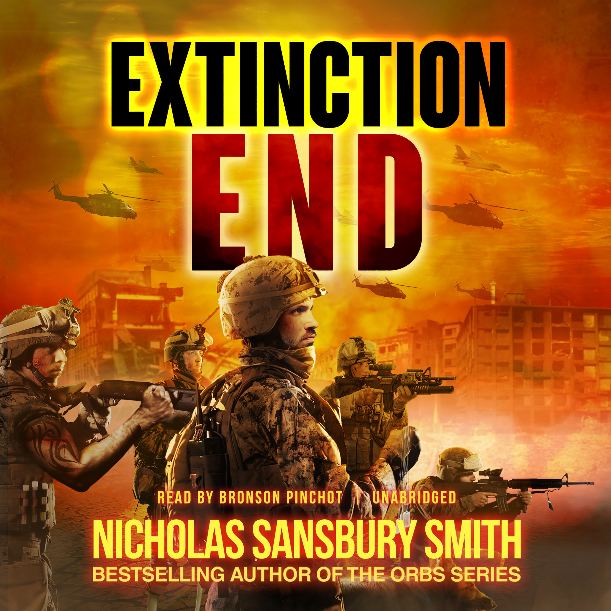 Printable Extinction End Audiobook Cover Art