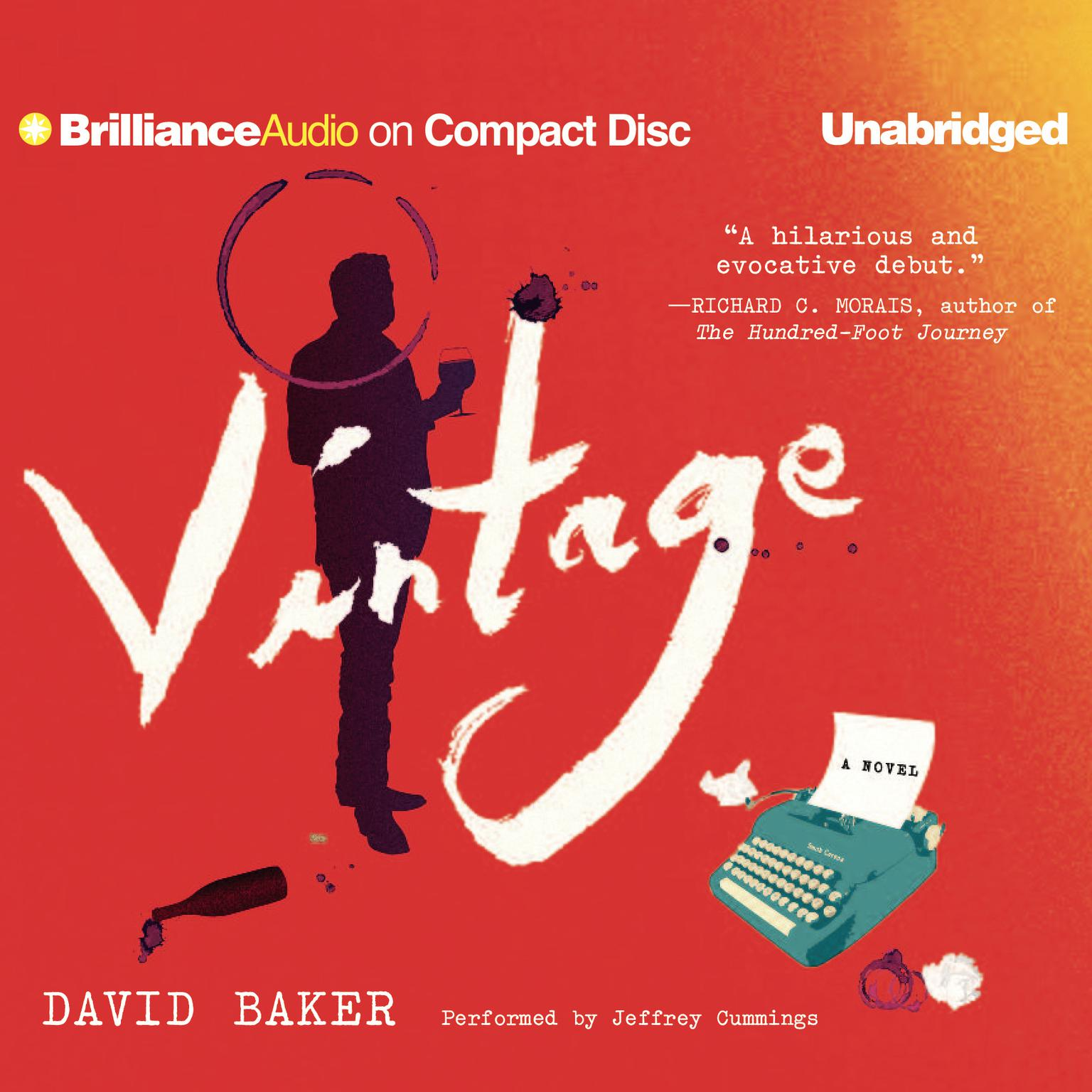 Printable Vintage: A Novel Audiobook Cover Art