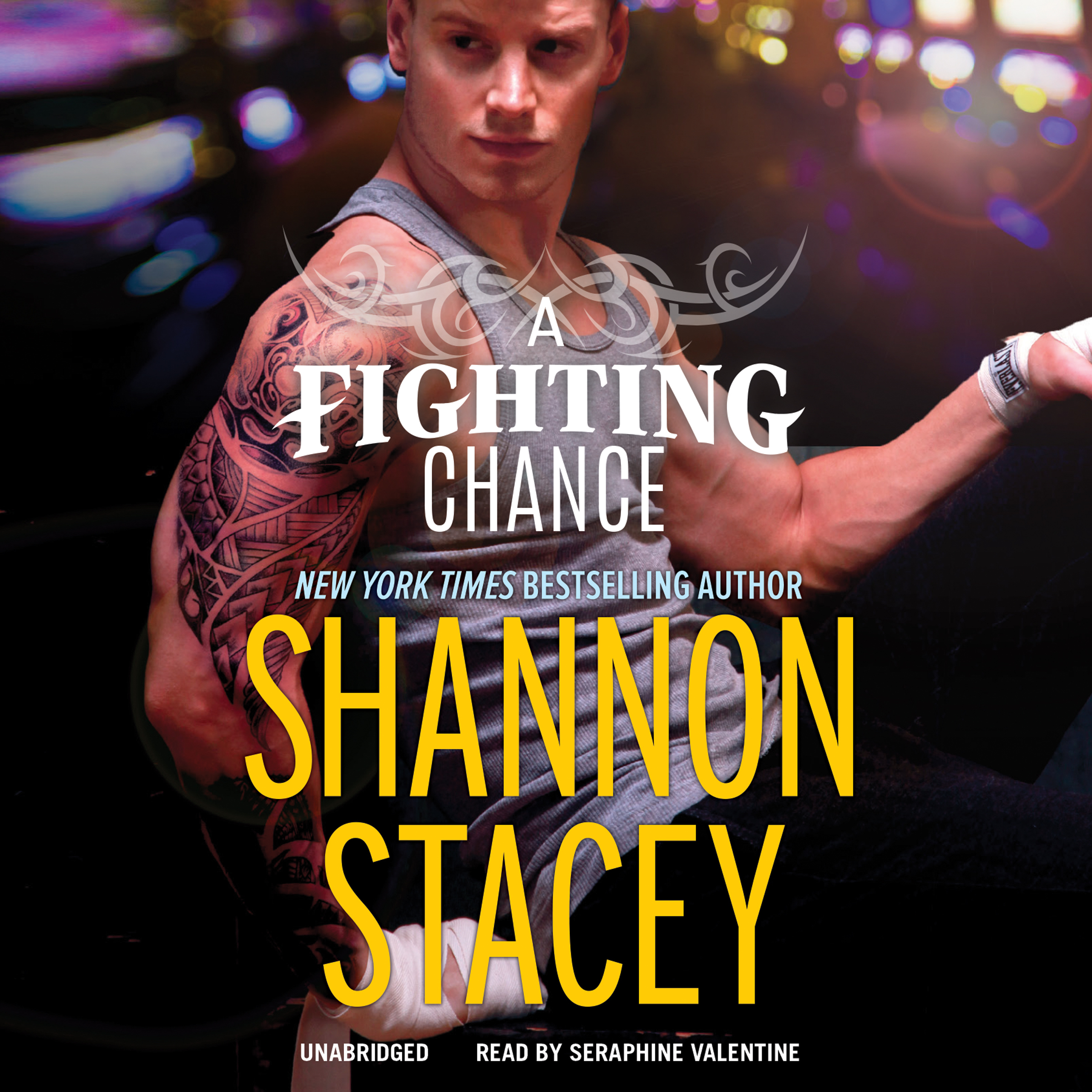Printable A Fighting Chance Audiobook Cover Art