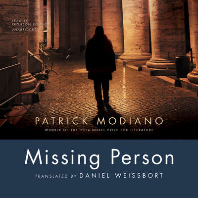 Missing Person Audiobook, by Patrick Modiano