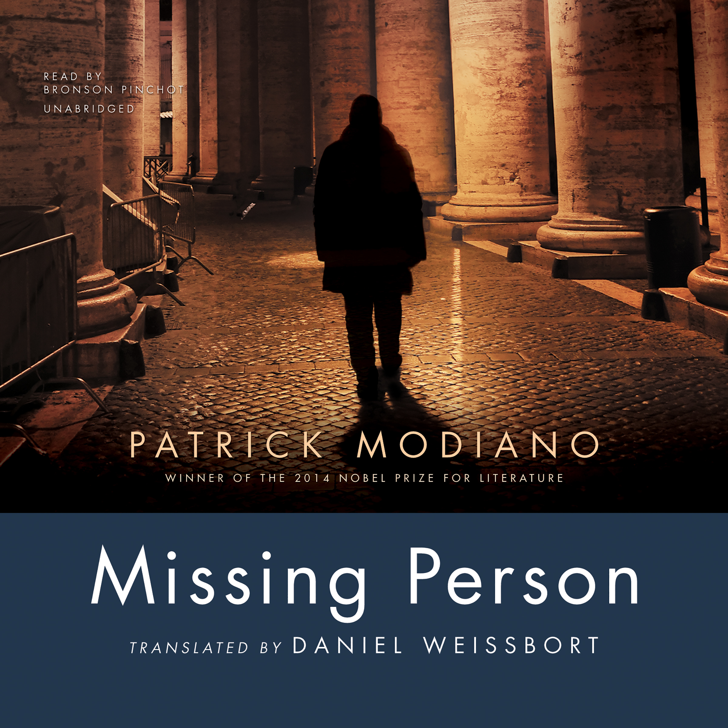 Printable Missing Person Audiobook Cover Art