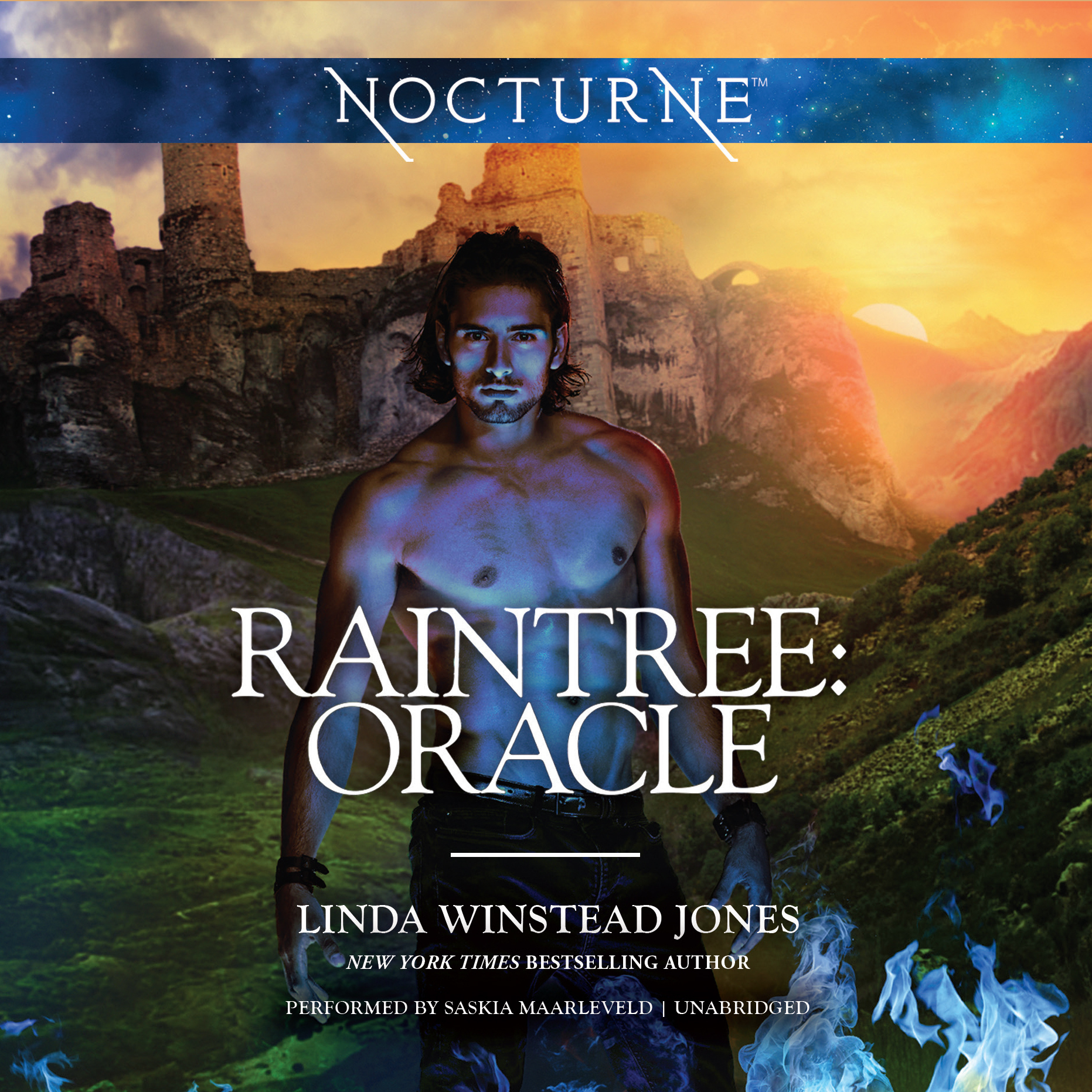 Printable Raintree: Oracle Audiobook Cover Art