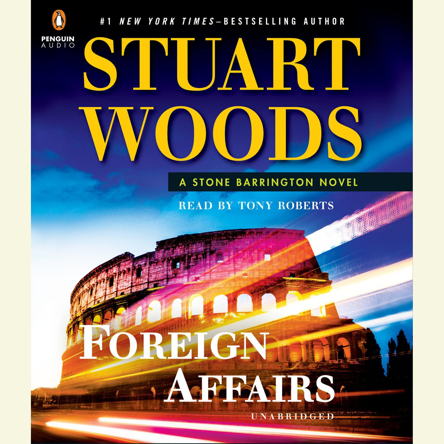 Printable Foreign Affairs Audiobook Cover Art