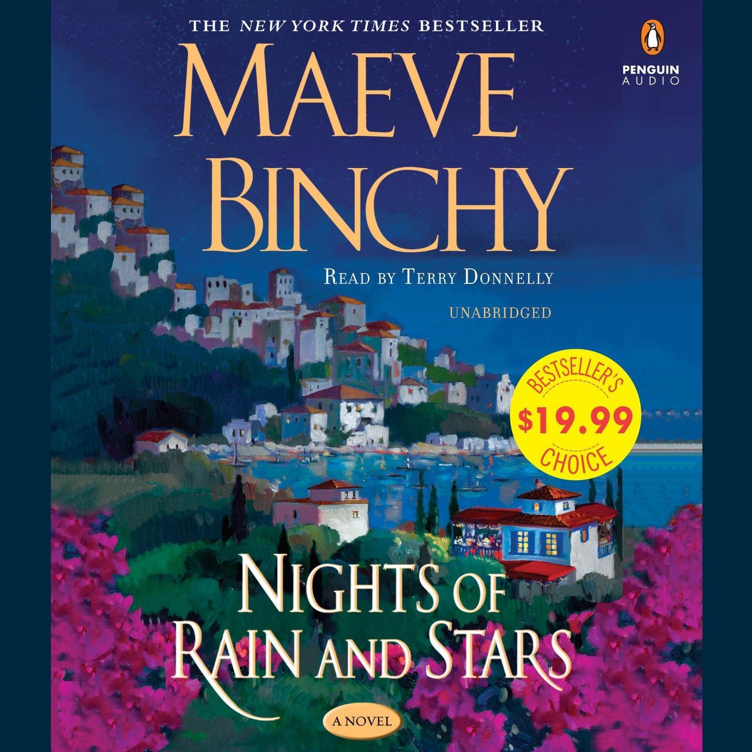 Printable Nights of Rain and Stars Audiobook Cover Art