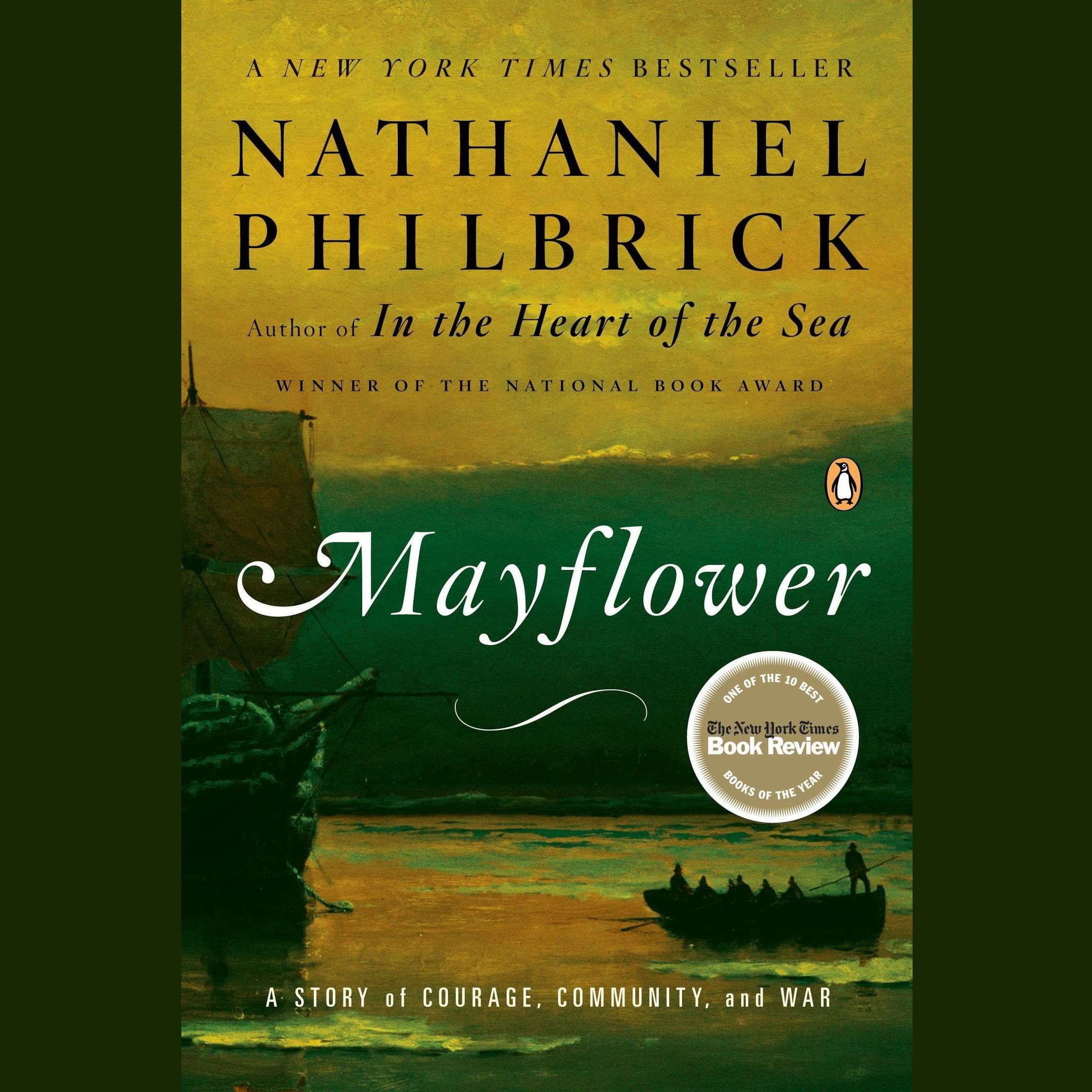 Printable Mayflower: A Story of Courage, Community, and War Audiobook Cover Art