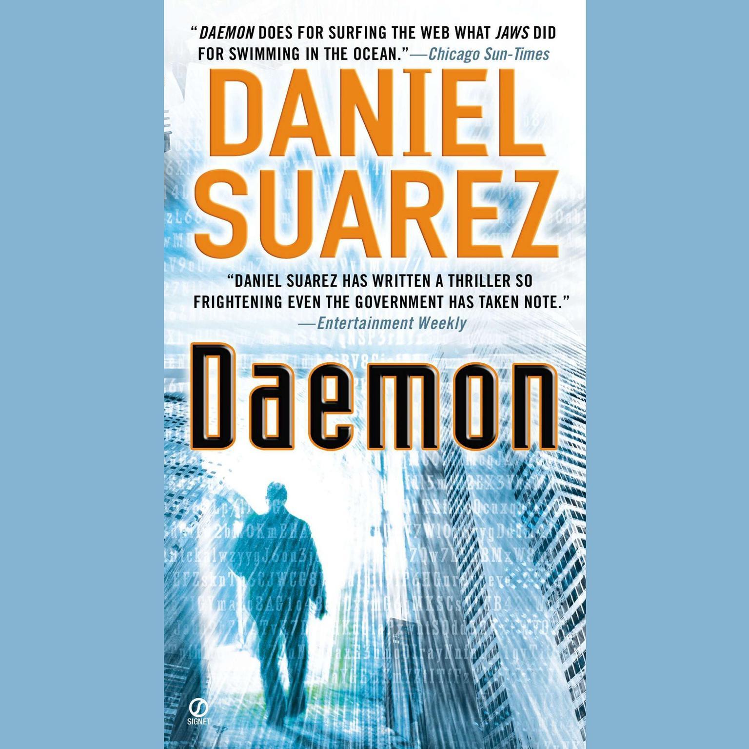 Printable Daemon Audiobook Cover Art