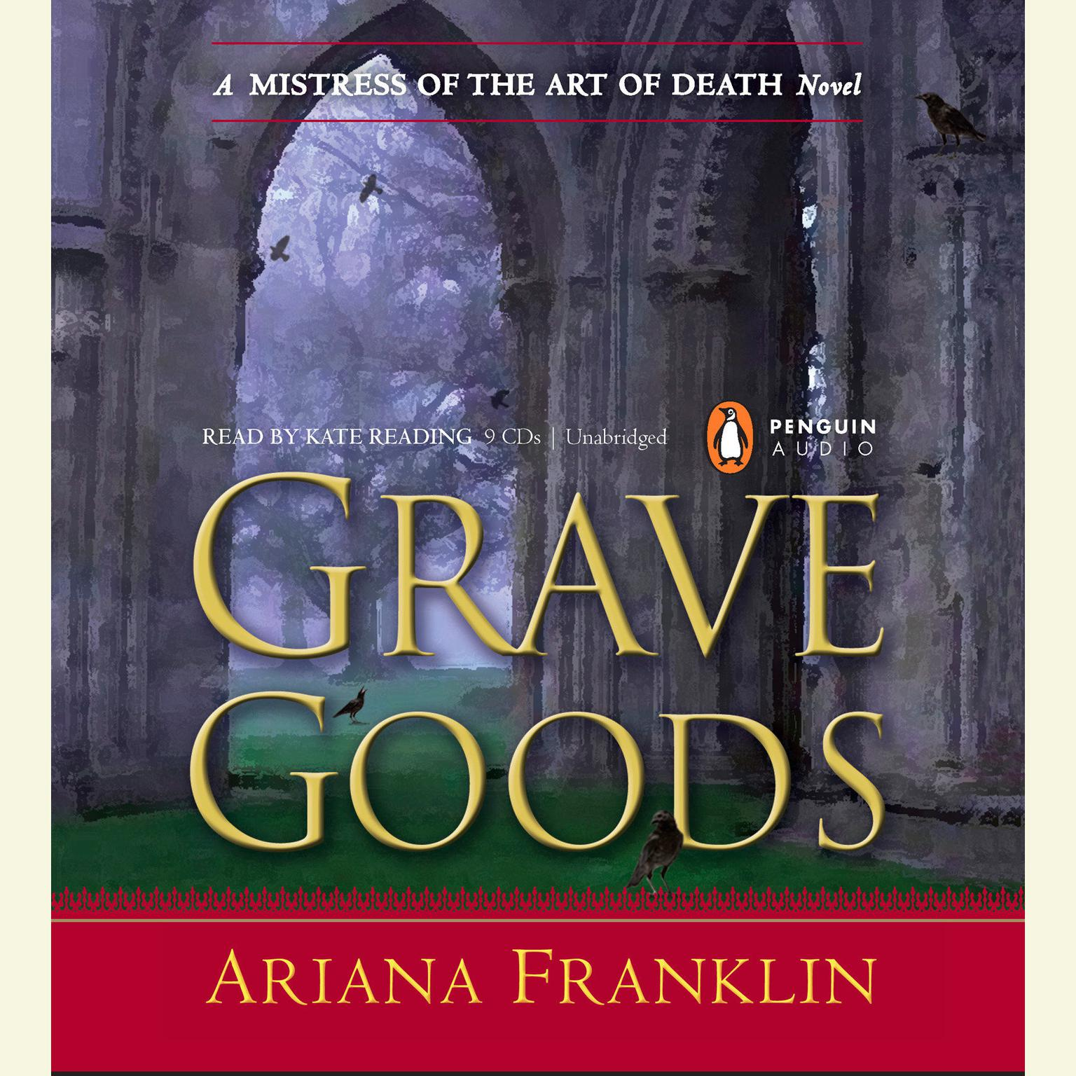 Printable Grave Goods Audiobook Cover Art