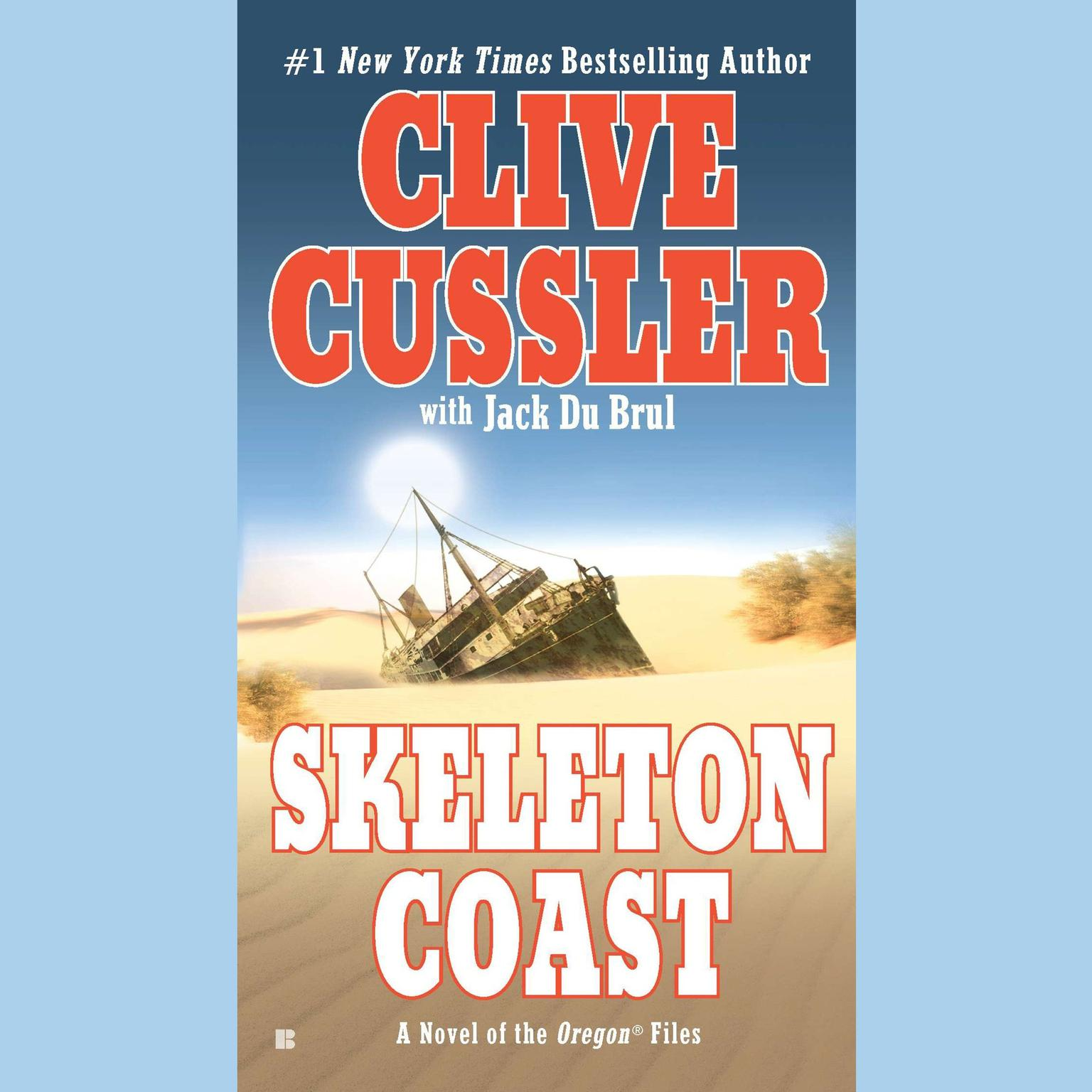 Printable Skeleton Coast Audiobook Cover Art