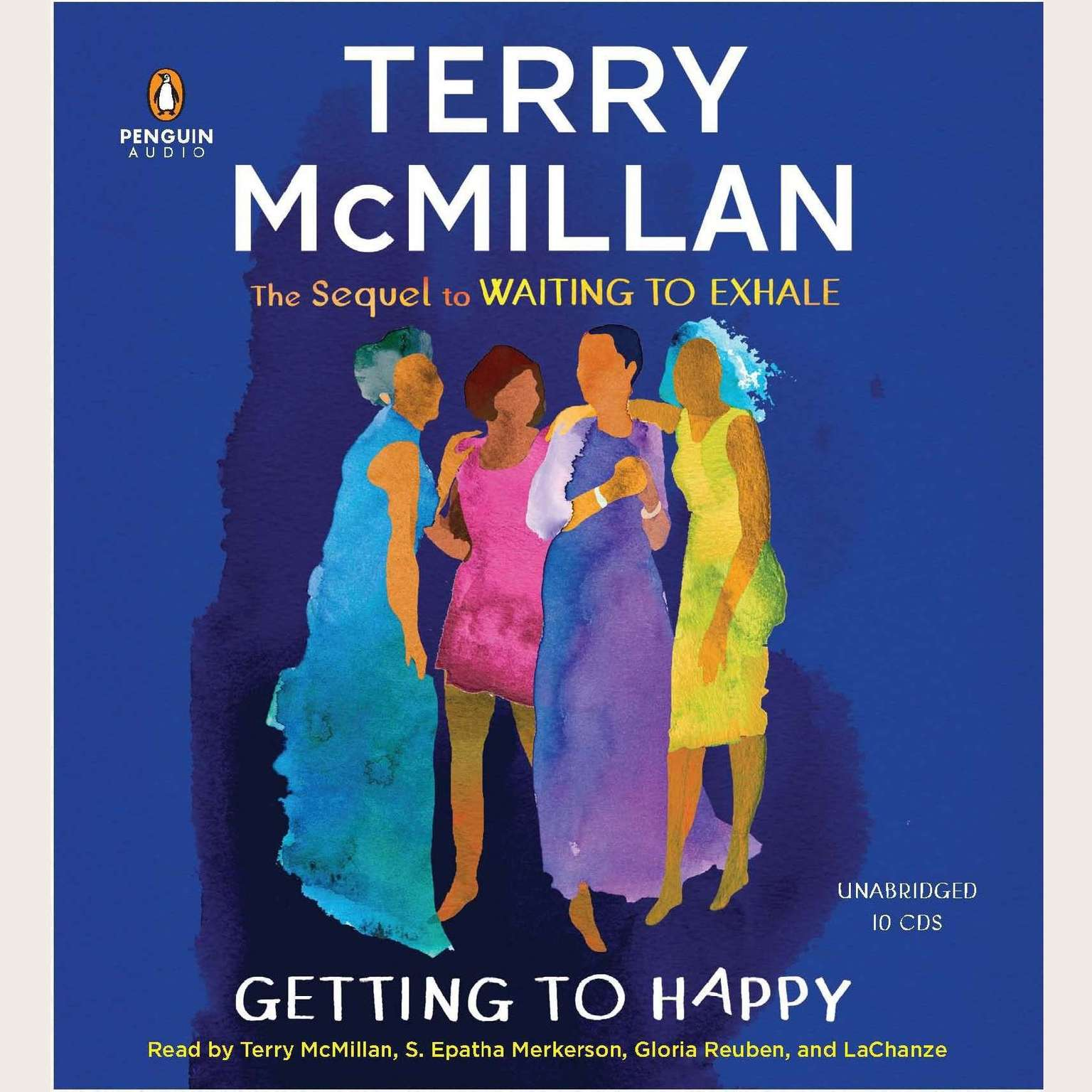 Printable Getting to Happy Audiobook Cover Art