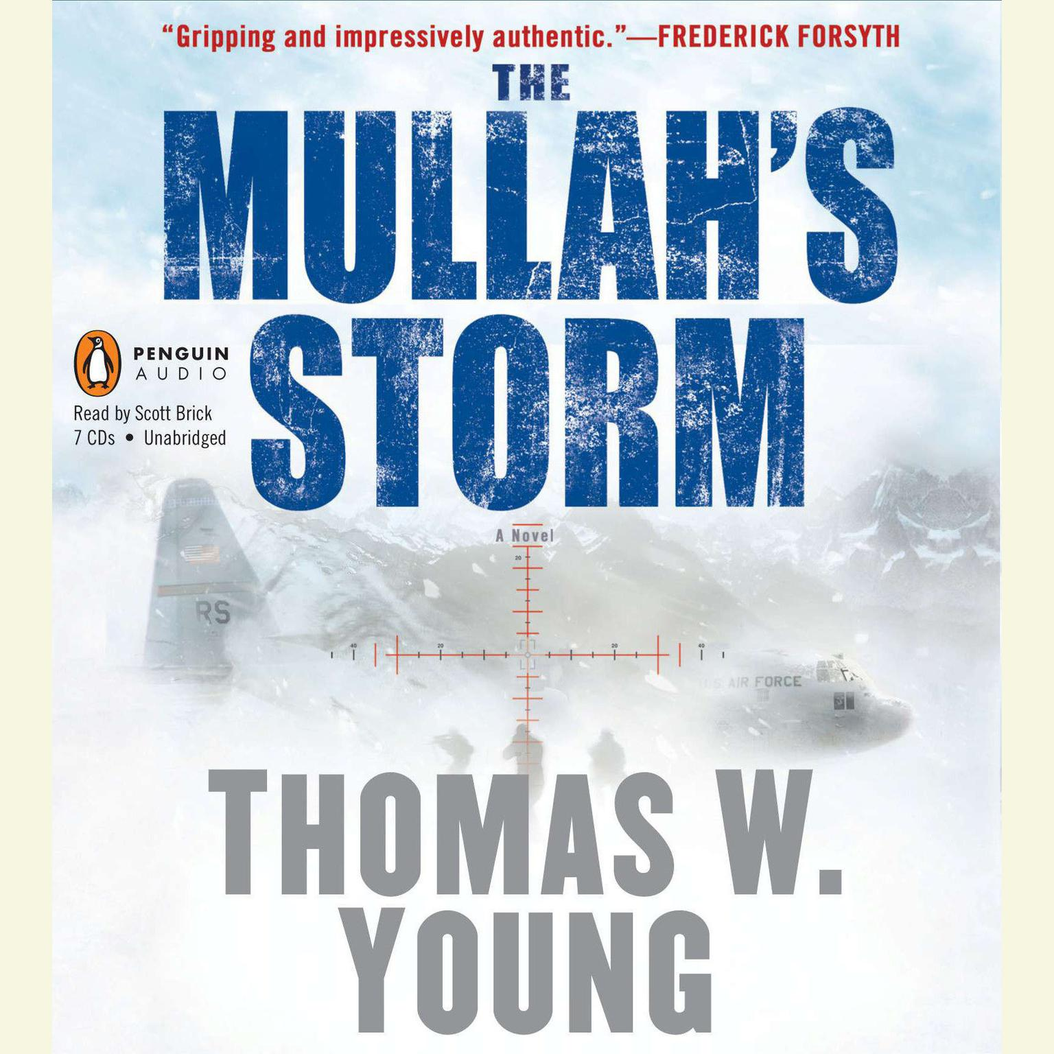Printable The Mullah's Storm Audiobook Cover Art